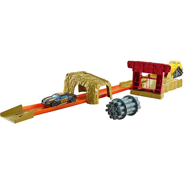 Hot Wheels Игрушечный трек БульдозерАвтотреки<br>Характеристики товара:<br><br>• материал: ПВХ, пластик<br>• возраст: 4+<br>• комплектация: горка, гоночная машина, бульдозер и аксессуары<br>• страна производства: Китай<br><br>Всем известно, что любимые игрушки мальчиков – машинки. Современный выбор игрушек дает возможность почувствовать себя организатором гоночных соревнований. Так, игрушечный трек с бульдозером, несомненно, внесет разнообразие в игровой процесс ребенка. Качественная игрушка прослужит далеко не один год, не теряя при этом первоначального вида! Материалы, использованные при изготовлении товара, сертифицированы и отвечают всем международным требованиям по качеству. <br><br>Набор «Hot Wheels Игрушечный трек Бульдозер» можно приобрести в нашем интернет-магазине.<br><br>Ширина мм: 55<br>Глубина мм: 405<br>Высота мм: 190<br>Вес г: 639<br>Возраст от месяцев: 48<br>Возраст до месяцев: 120<br>Пол: Мужской<br>Возраст: Детский<br>SKU: 4953524