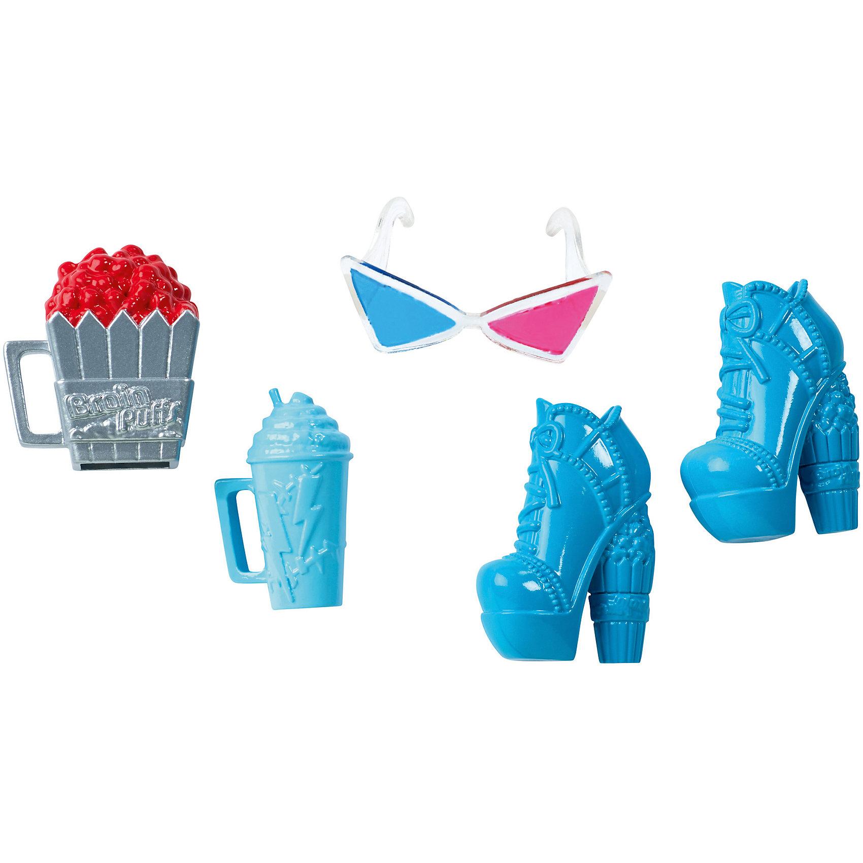 Набор аксессуаров , Monster HighПопулярные игрушки<br><br><br>Ширина мм: 15<br>Глубина мм: 75<br>Высота мм: 150<br>Вес г: 43<br>Возраст от месяцев: 72<br>Возраст до месяцев: 144<br>Пол: Женский<br>Возраст: Детский<br>SKU: 4953560