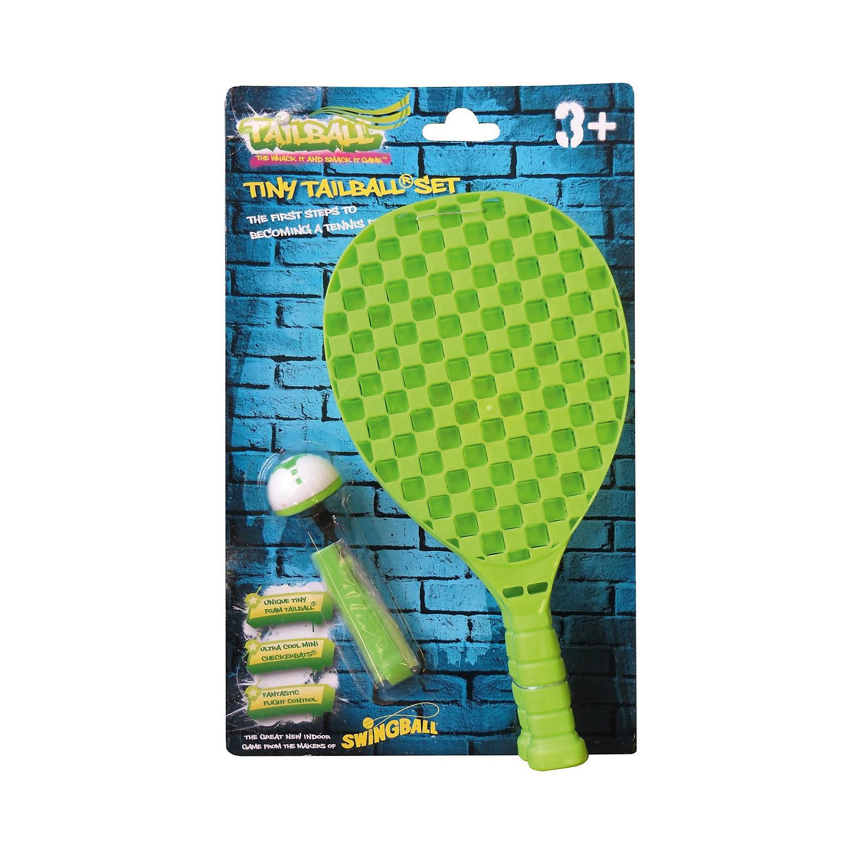 Веселый бадминтон (2 ракетки, воланчик), MookieБадминтон и теннис<br>Tiny TailBall Set  - набор для игры в бадминтон. В набор входят две облегченные ракетки и оригинальный волан с хвостиком. С его помощью будет очень удобно следить за траекторией полета волана. Прекрасная игра для всей семьи!<br><br>Дополнительная информация:<br>В комплекте: 2 ракетки, шар-волан с хвостиком<br>Материал: пластик<br>Размер: 25х6х37 см<br>Вес: 333 грамма<br>Набор для бадминтона Tiny TailBall Set вы можете купить в нашем интернет-магазине.<br><br>Ширина мм: 370<br>Глубина мм: 60<br>Высота мм: 250<br>Вес г: 333<br>Возраст от месяцев: 36<br>Возраст до месяцев: 120<br>Пол: Унисекс<br>Возраст: Детский<br>SKU: 4953634