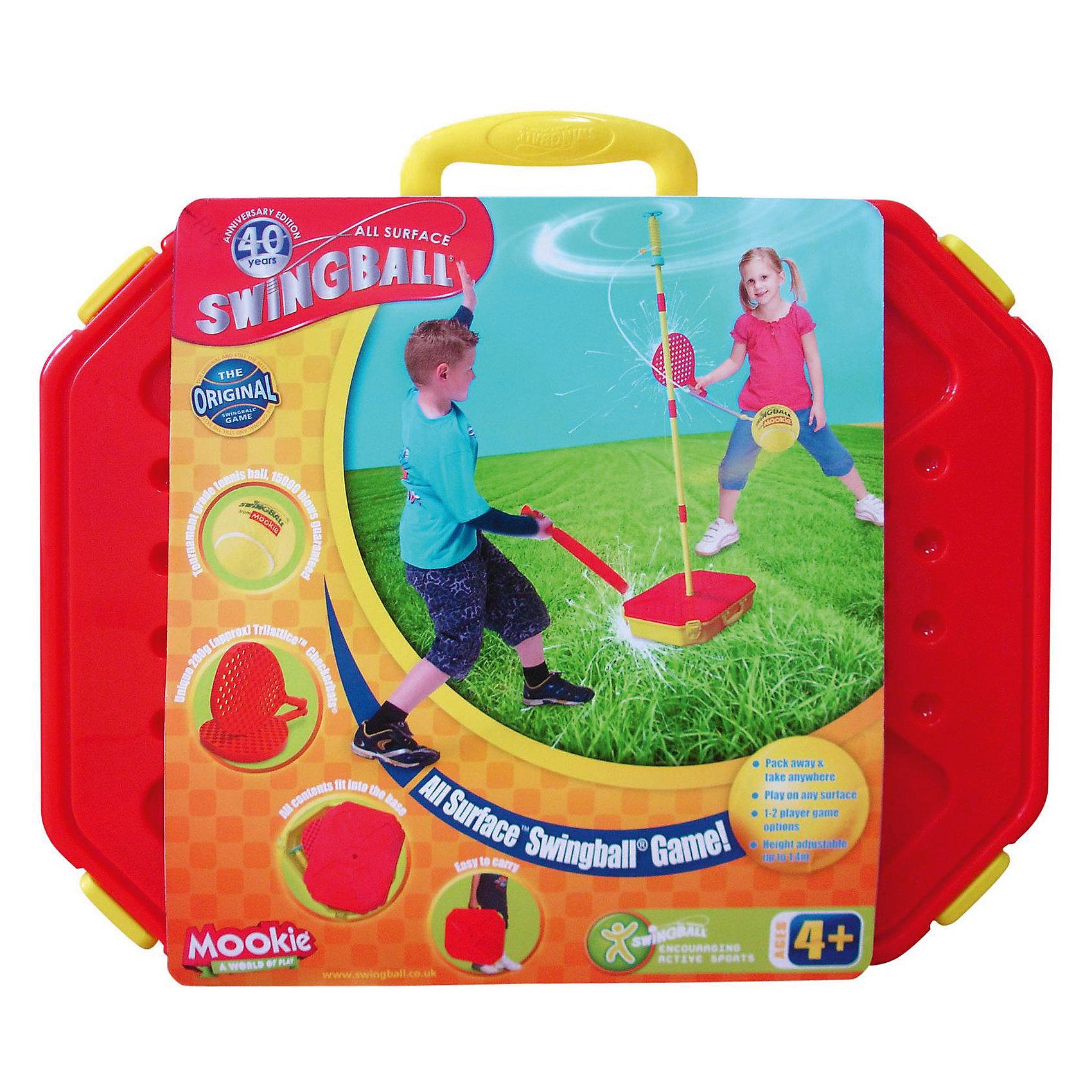 Набор Веселый теннис: 2 ракетки, мяч,  MookieБадминтон и теннис<br>Веселый теннис - прекрасный набор для активного отдыха. Устойчивая конструкция с мячиком поможет развить скорость реакции детей. Ракетки с рельефной поверхностью, максимально удобной для игры. Хороший выбор для активных детей!<br><br>Дополнительная информация:<br>В наборе: 2 ракетки,  мячик на тросе, кейс-подставка, стойка<br>Материал: пластик<br>Размер: 10х35,5х45,5 см<br>Вес: 2400 грамм<br>Вы можете купить набор Веселый теннис в нашем интернет-магазине.<br><br>Ширина мм: 455<br>Глубина мм: 355<br>Высота мм: 100<br>Вес г: 2400<br>Возраст от месяцев: 36<br>Возраст до месяцев: 120<br>Пол: Унисекс<br>Возраст: Детский<br>SKU: 4953643
