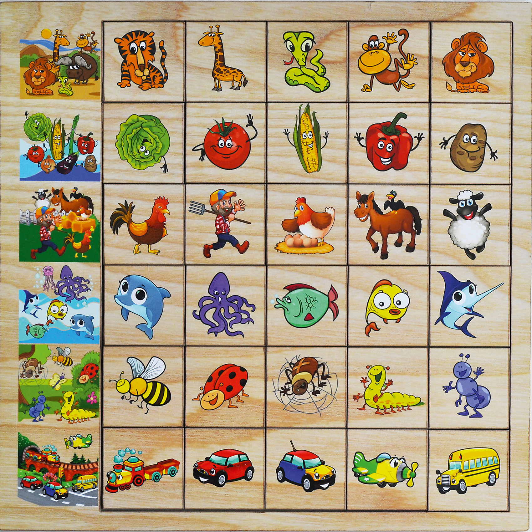 Развивающая игрушка: игра Ассоциации, Мастер игрушекИгры для дошкольников<br>Ассоциации - развивающая игра для детей. В набор входят 30 фишек и рамка. Ребенку предстоит заполнить ряд фишками, соответствующими основной картинке. Эта игра хорошо развивает логику и учит ребенка классификации.<br><br>Дополнительная информация:<br>В наборе: 30 фишек, рамка<br>Материал: дерево<br>Размер: 30х0,6х30 см<br>Вес: 420 грамм<br>Игру Ассоциации можно приобрести в нашем интернет-магазине.<br><br>Ширина мм: 300<br>Глубина мм: 6<br>Высота мм: 300<br>Вес г: 420<br>Возраст от месяцев: 36<br>Возраст до месяцев: 120<br>Пол: Унисекс<br>Возраст: Детский<br>SKU: 4953663