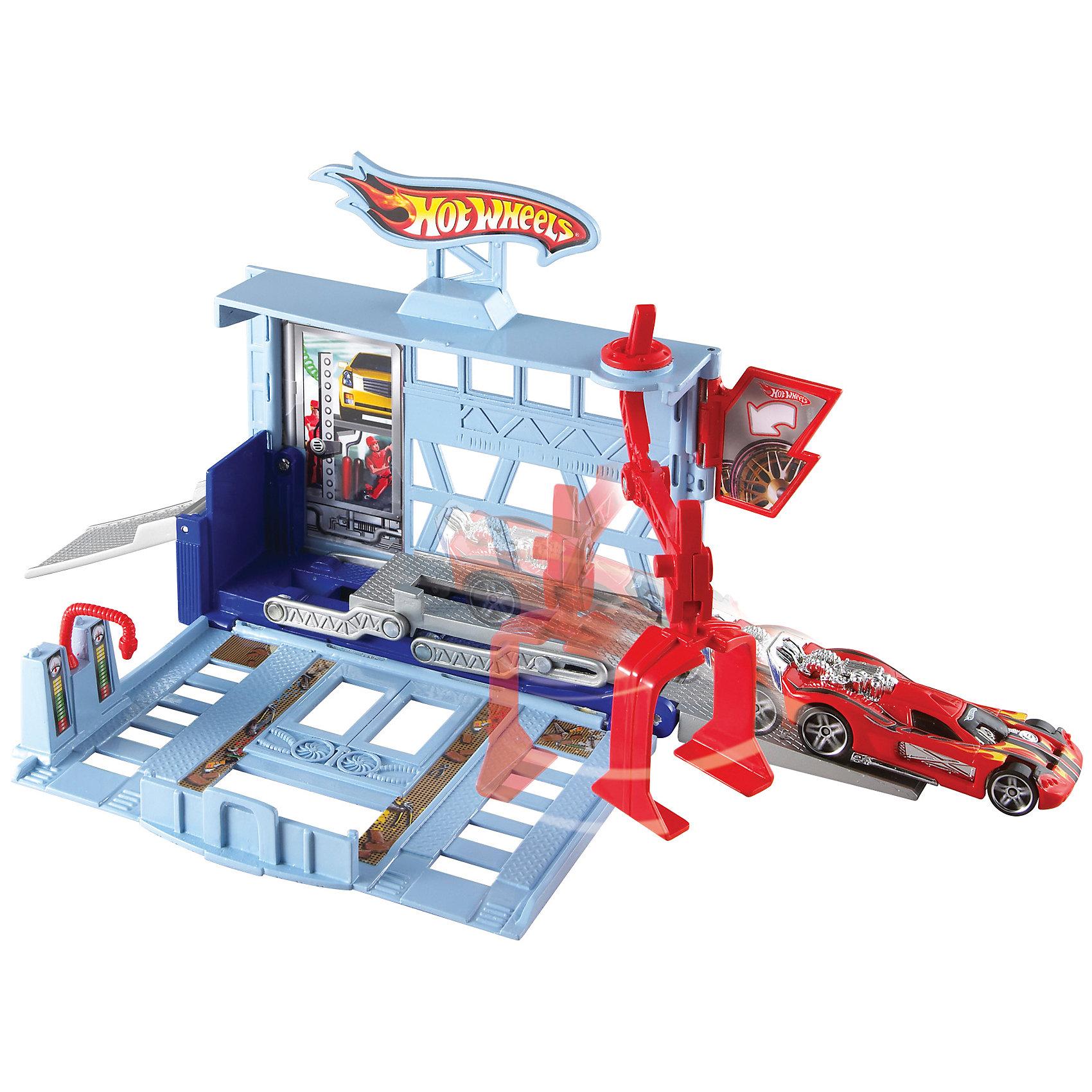 Mattel Игровой набор Город, Hot Wheels игровые наборы mattel форсаж игровой набор