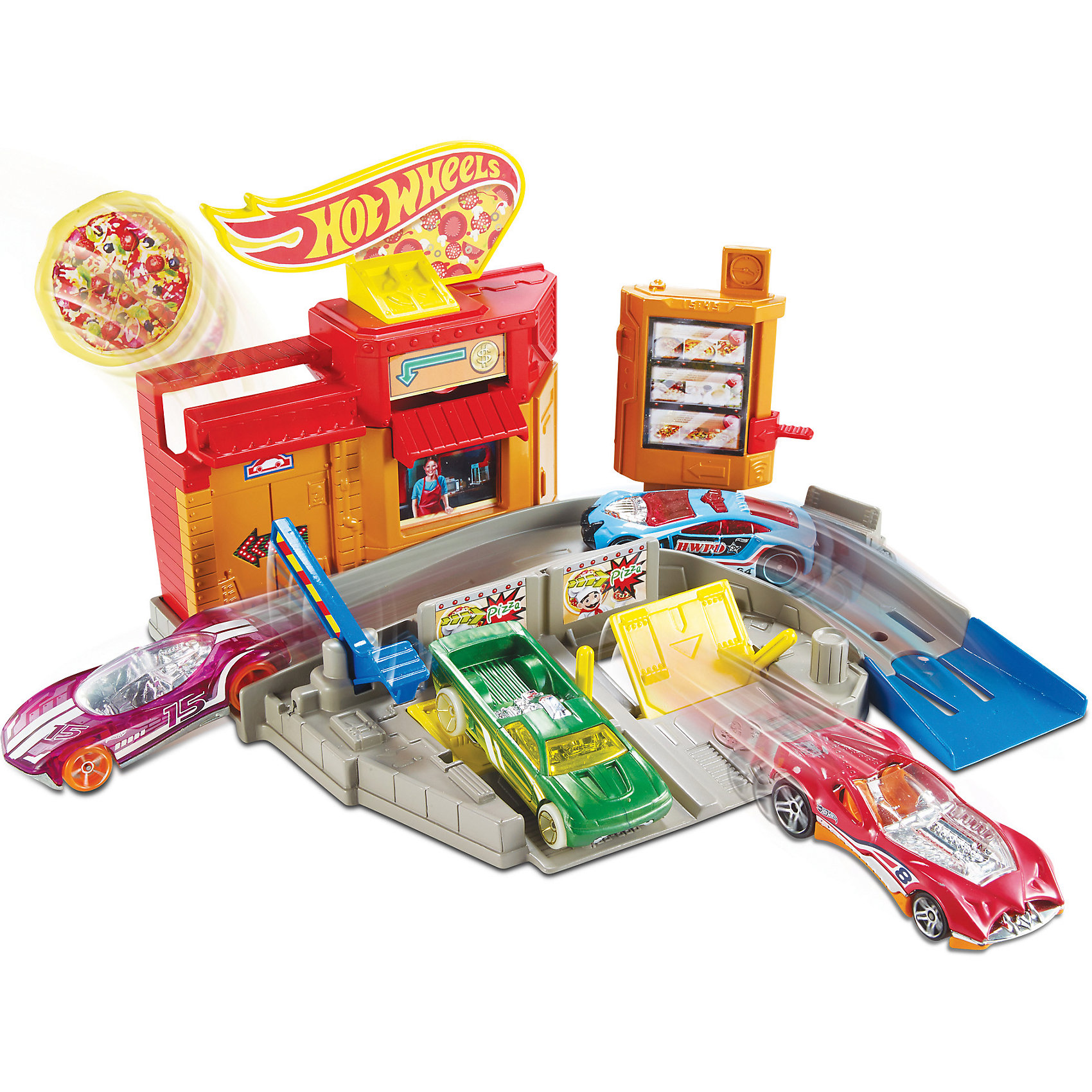 Mattel Игровой набор Город, Hot Wheels игровые наборы esschert design набор игровой kg118
