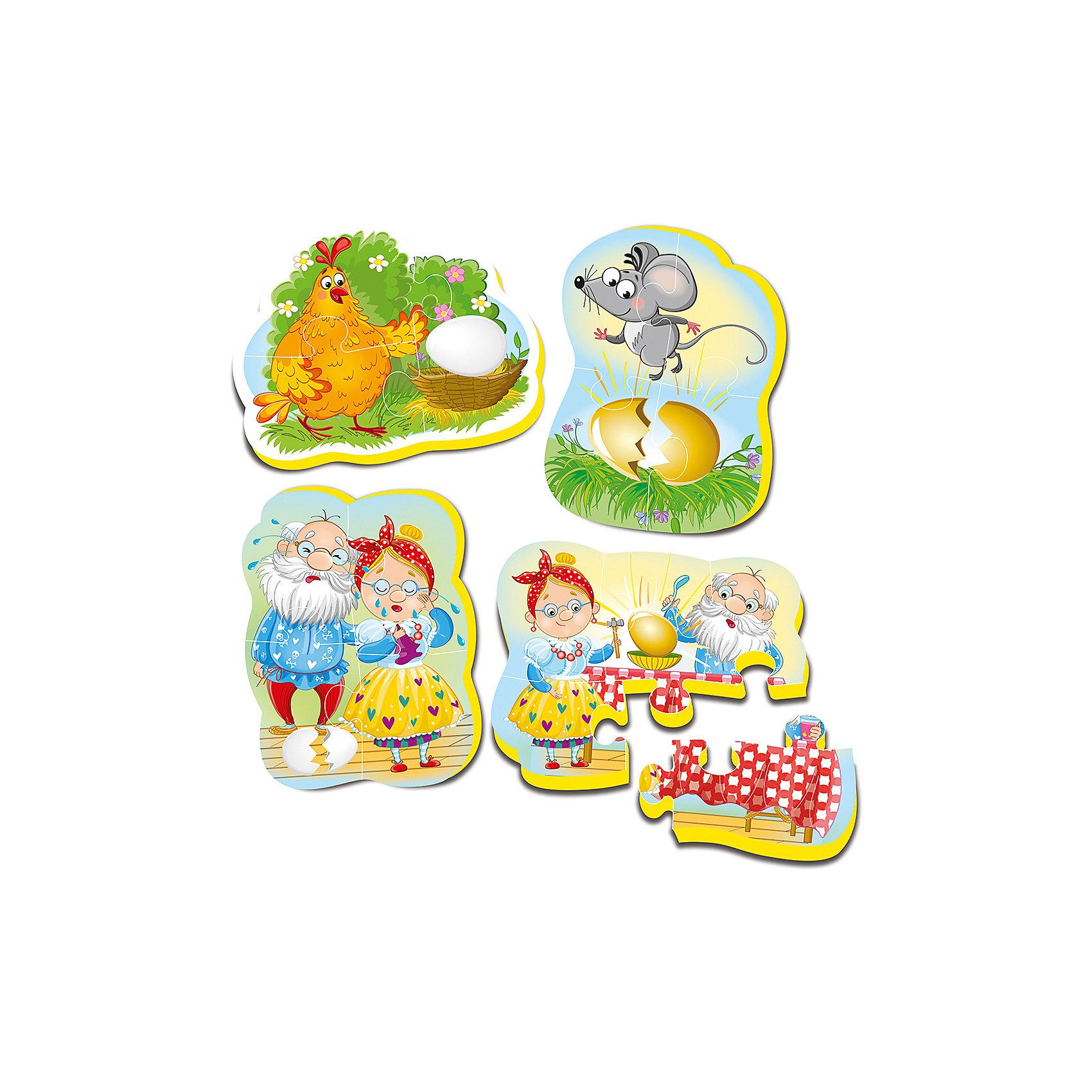 Vladi Toys Мягкие пазлы Три поросенка, Vladi Toys пазлы vladi toys пазлы мягкие baby puzzle сказки репка
