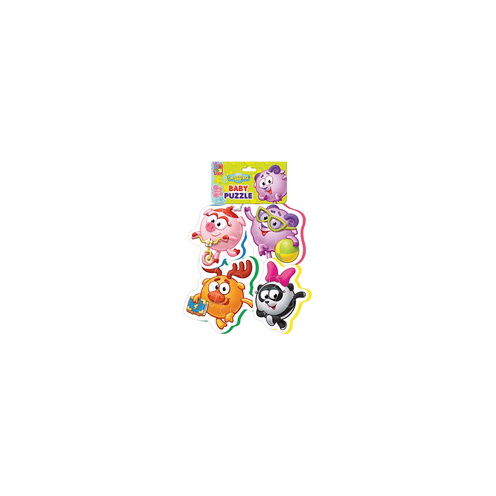 Vladi Toys Мягкие пазлы Смешарики, Vladi Toys пазлы vladi toys пазлы мягкие baby puzzle сказки репка