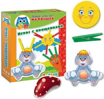Набор развивающих игр Зайка , Vladi Toys