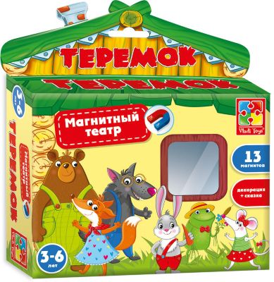 Магнитный театр Теремок , Vladi Toys