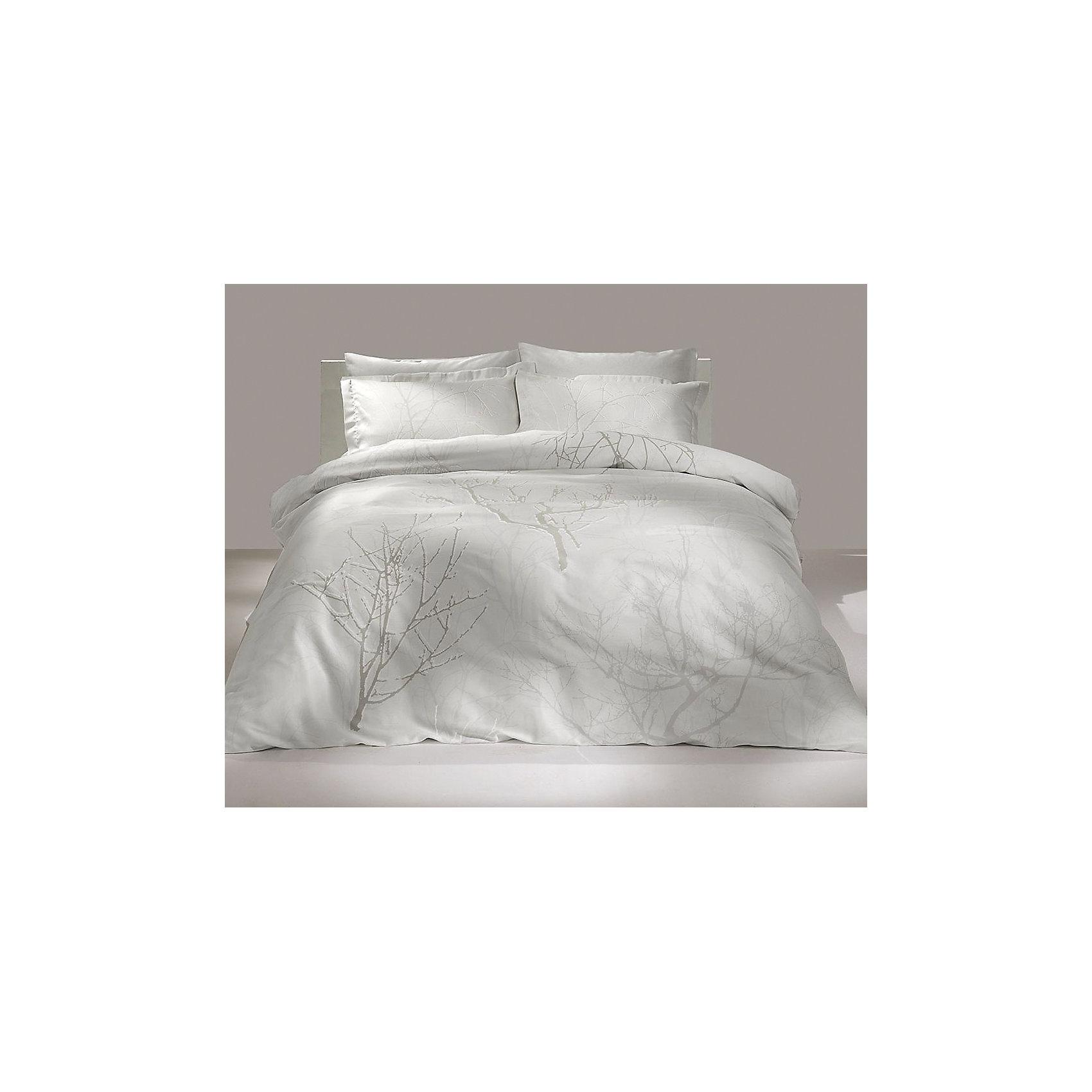 TAC Постельное белье 1,5 Parley, сатин, TAC, кремовый постельное белье tac в спб