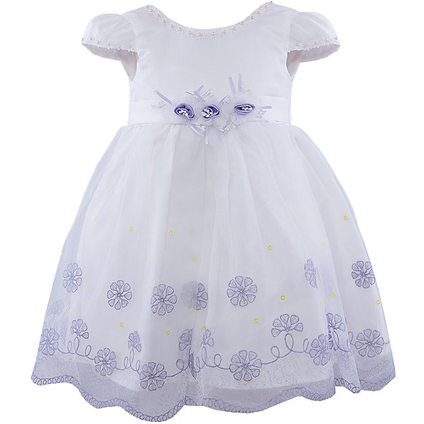 Нарядное платье для девочки VitacciОдежда<br>Платье для девочки от известного бренда Vitacci.<br>Очаровательное платье для маленькой принцессы. Модель отрезная по линии талии,с застёжкой молнией на спинке.<br>Состав:<br>100% полиэстер<br><br>Ширина мм: 236<br>Глубина мм: 16<br>Высота мм: 184<br>Вес г: 177<br>Цвет: синий/белый<br>Возраст от месяцев: 18<br>Возраст до месяцев: 24<br>Пол: Женский<br>Возраст: Детский<br>Размер: 90,120,110,100,80<br>SKU: 4956079