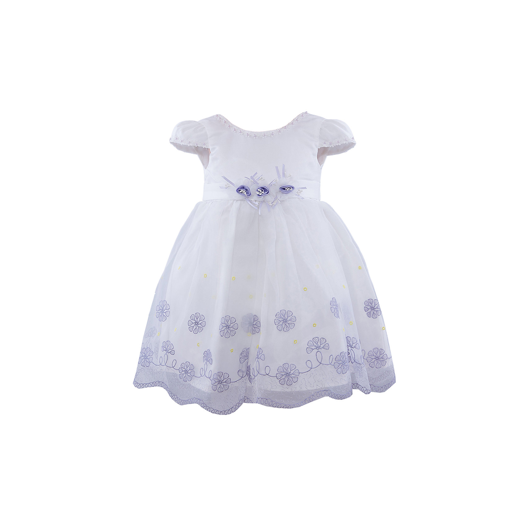 Vitacci Нарядное платье для девочки Vitacci туфли vitacci vitacci mp002xm0yi4x