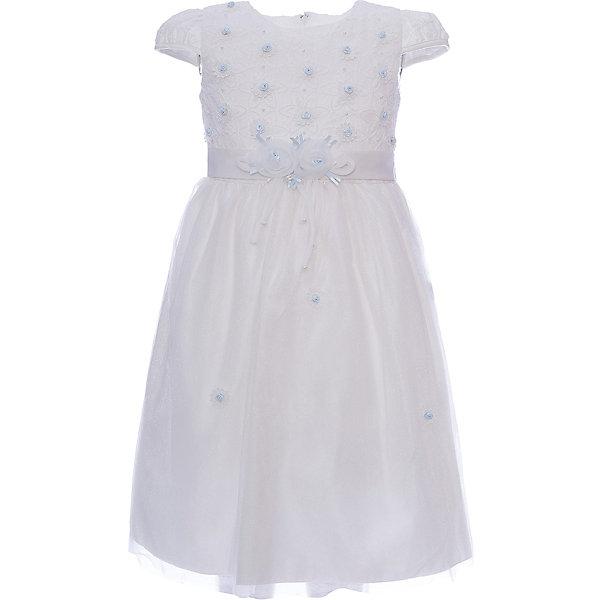 Нарядное платье для девочки VitacciОдежда<br>Платье для девочки от известного бренда Vitacci.<br>Очаровательное платье для маленькой принцессы. Модель отрезная по линии талии,с застёжкой молнией на спинке.<br>Состав:<br>100% полиэстер<br>Ширина мм: 236; Глубина мм: 16; Высота мм: 184; Вес г: 177; Цвет: розовый/белый; Возраст от месяцев: 12; Возраст до месяцев: 15; Пол: Женский; Возраст: Детский; Размер: 80,120,110,100,90; SKU: 4956091;