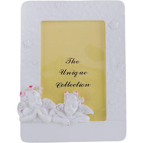 Купить Фоторамка Ангелы со звездочками для фото 8.6*13.4 см, Феникс-Презент, Китай, Унисекс