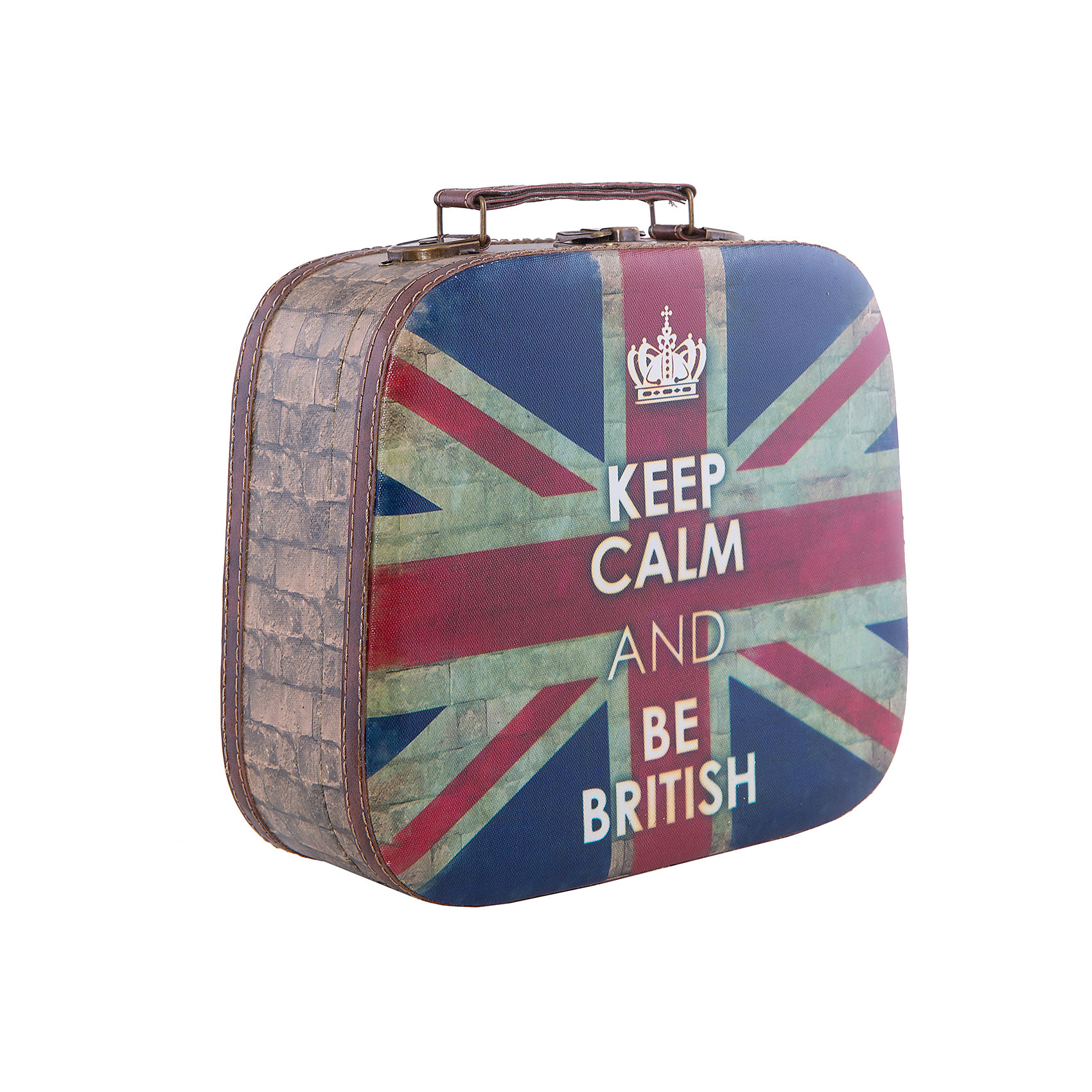 Шкатулка декоративная  Британский флагПредметы интерьера<br>Декоративная шкатулка Британский флаг выполнена в форме небольшого чемоданчика, украшена ярким оригинальным рисунком с британским флагом и надписью. Закрывается на замок, есть удобная ручка. В этой шкатулке очень удобно хранить свои самые любимые украшения.<br><br>Дополнительная информация:<br>Материал: МДФ<br>Размер: 10,5х25 см<br>Вес: 700 грамм<br>Декоративную шкатулку Британский флаг можно приобрести в нашем интернет-магазине.<br><br>Ширина мм: 380<br>Глубина мм: 330<br>Высота мм: 560<br>Вес г: 700<br>Возраст от месяцев: 84<br>Возраст до месяцев: 216<br>Пол: Унисекс<br>Возраст: Детский<br>SKU: 4957961