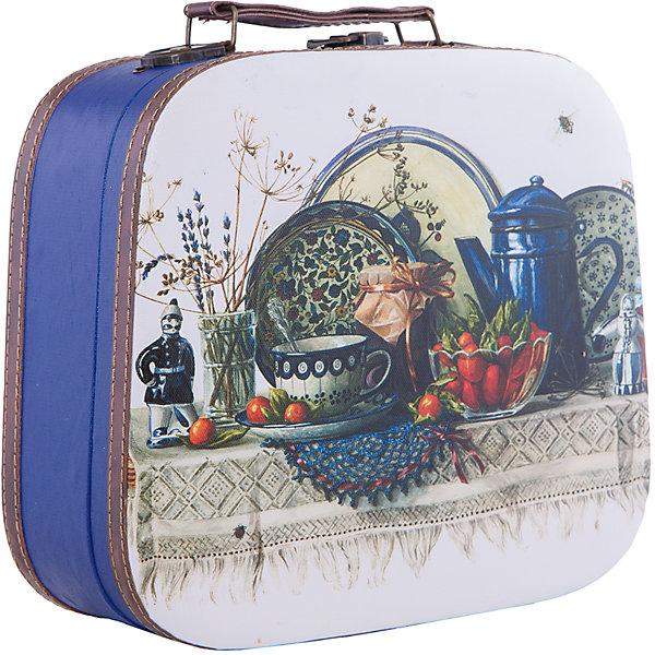 Шкатулка декоративная  СИНИЙ НАТЮРМОРТДетские предметы интерьера<br>Декоративная шкатулка Синий натюрморт изготовлена из материалов высокого качества, выполнена в форме сумочки, имеет удобную ручку и декорирована ярким рисунком. В этой шкатулке удобно будет хранить самые ценные предметы и различные безделушки.<br><br>Дополнительная информация:<br>Материал: МДФ<br>Размер: 28,5х25х10,5 см<br>Вес: 695 грамм<br>Декоративную шкатулку Синий натюрморт вы можете приобрести в нашем интернет-магазине.<br><br>Ширина мм: 370<br>Глубина мм: 30<br>Высота мм: 560<br>Вес г: 833<br>Возраст от месяцев: 84<br>Возраст до месяцев: 216<br>Пол: Унисекс<br>Возраст: Детский<br>SKU: 4957965