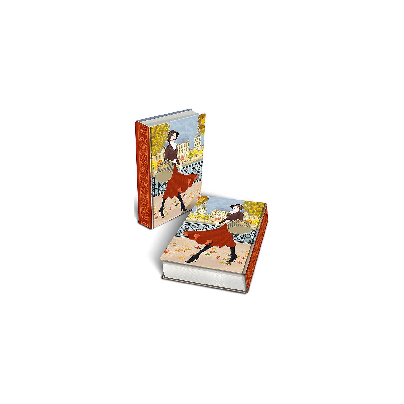 Феникс-Презент Шкатулка декоративная  Осенняя прогулка (17*11*5 см)