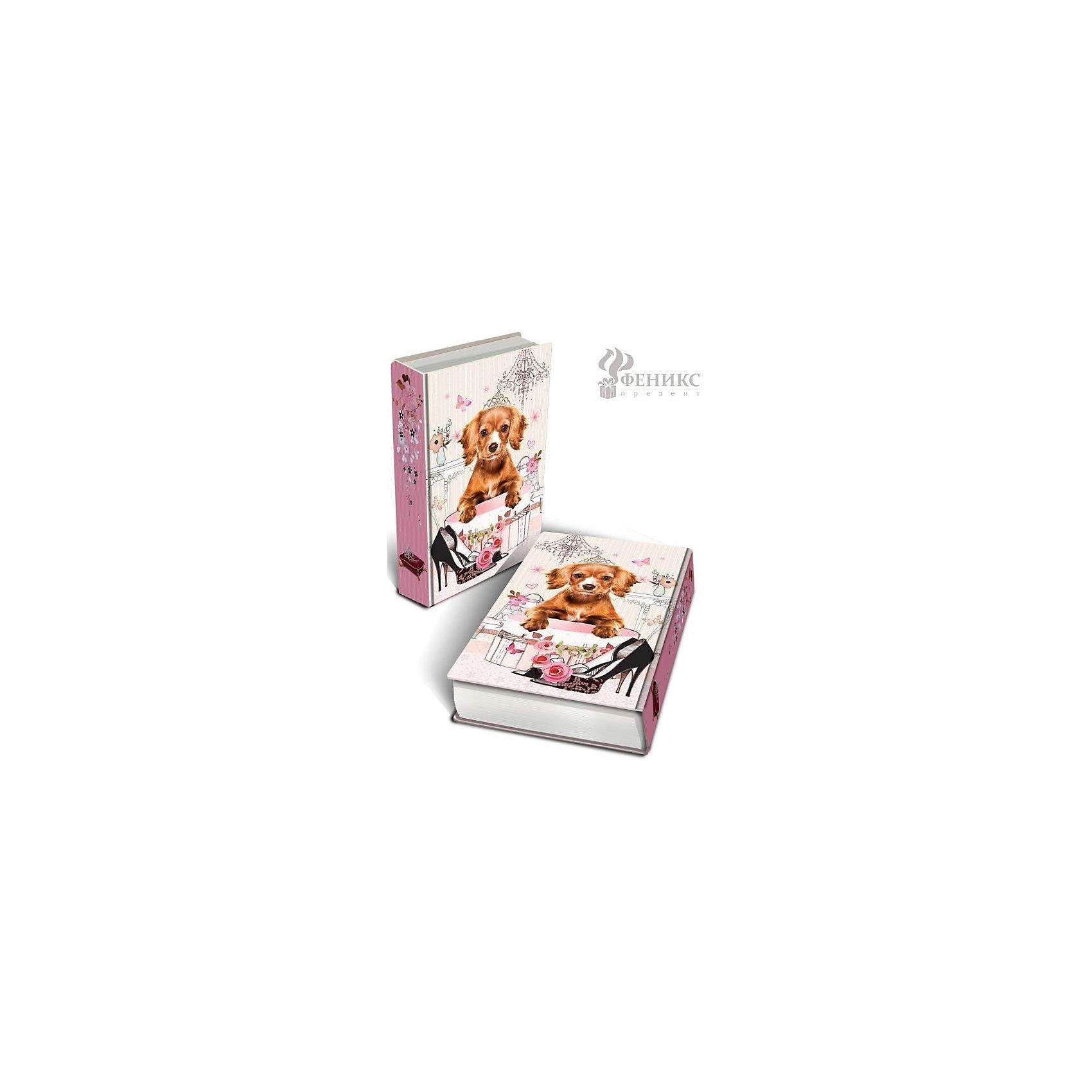 Феникс-Презент Шкатулка декоративная Принцесса (17*11*5 см) roomble декоративная шкатулка секционная для хранения украшений pompadour