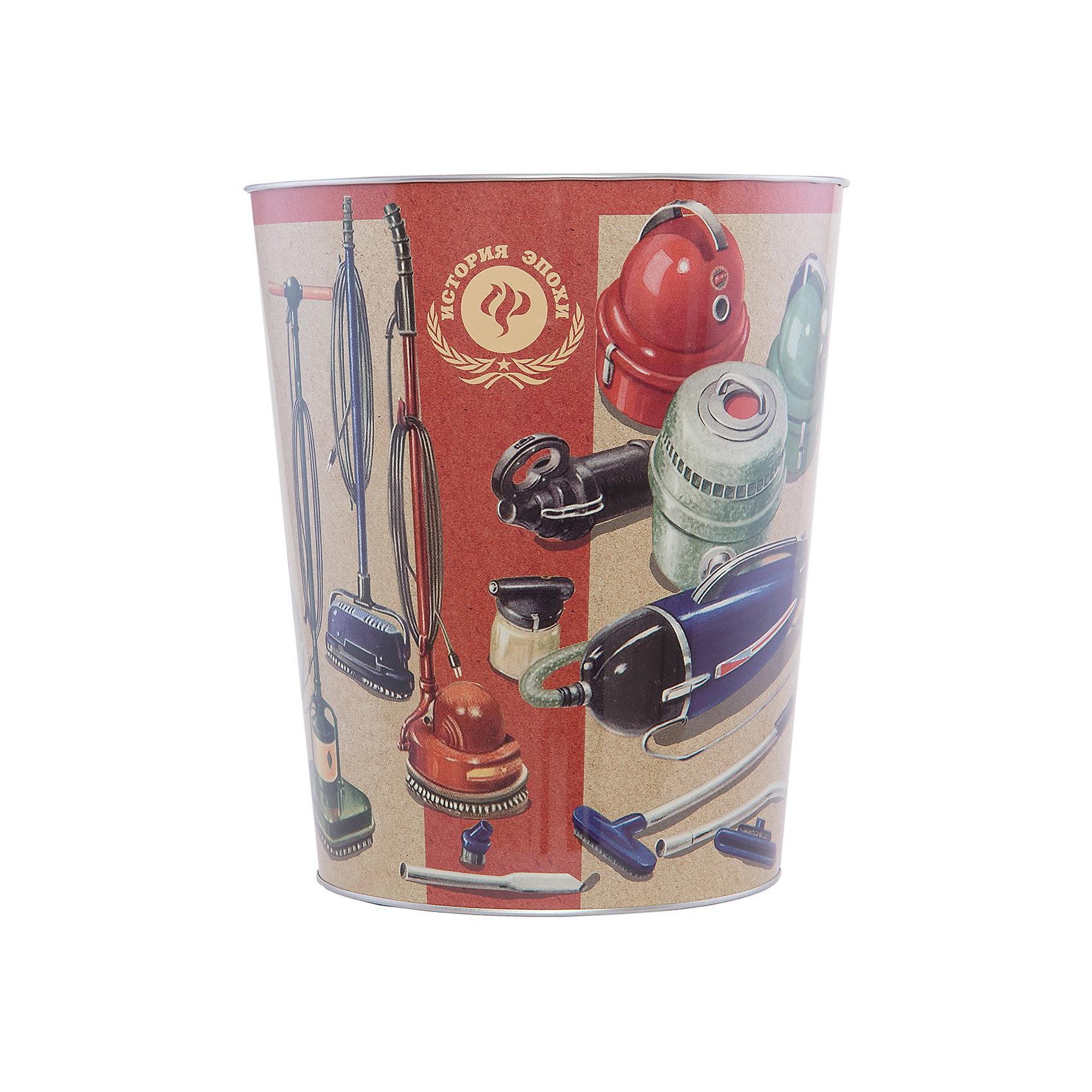 Ведро мусорное ПылесосыПылесосы - ведро для мусора, сделанное из металла и украшенное рисунком с советскими пылесосами. Простое и практичное ведро удобно использовать как дома, так и на рабочем месте.<br><br>Дополнительная информация:<br>Материал: металл<br>Диаметр: 22,5 см<br>Высота: 26,5 см<br>Вес: 375 грамм<br>Мусорное ведро Пылесосы можно приобрести в нашем интернет-магазине.<br><br>Ширина мм: 690<br>Глубина мм: 250<br>Высота мм: 240<br>Вес г: 417<br>Возраст от месяцев: 84<br>Возраст до месяцев: 216<br>Пол: Унисекс<br>Возраст: Детский<br>SKU: 4957980