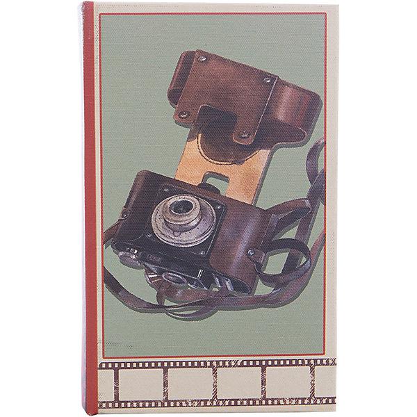 Шкатулка декоративная ФотоаппаратДетские предметы интерьера<br>Декоративная шкатулка Фотоаппарат изготовлена из дерева в форме книги. Она декорирована интересным рисунком с изображением советского фотоаппарата. В такой шкатулке приятно будет приятно хранить вещи, украшения и мелкие безделушки.<br><br>Дополнительная информация:<br>Материал: МДФ<br>Размер: 5х17х11 см<br>Вы можете купить декоративную шкатулку Фотоаппарат в нашем интернет-магазине.<br>Ширина мм: 390; Глубина мм: 370; Высота мм: 380; Вес г: 307; Возраст от месяцев: 84; Возраст до месяцев: 216; Пол: Унисекс; Возраст: Детский; SKU: 4957984;