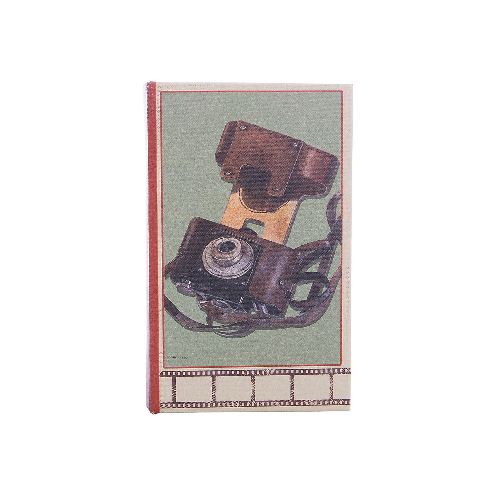 Шкатулка декоративная ФотоаппаратДетские предметы интерьера<br>Декоративная шкатулка Фотоаппарат изготовлена из дерева в форме книги. Она декорирована интересным рисунком с изображением советского фотоаппарата. В такой шкатулке приятно будет приятно хранить вещи, украшения и мелкие безделушки.<br><br>Дополнительная информация:<br>Материал: МДФ<br>Размер: 5х17х11 см<br>Вы можете купить декоративную шкатулку Фотоаппарат в нашем интернет-магазине.<br><br>Ширина мм: 390<br>Глубина мм: 370<br>Высота мм: 380<br>Вес г: 307<br>Возраст от месяцев: 84<br>Возраст до месяцев: 216<br>Пол: Унисекс<br>Возраст: Детский<br>SKU: 4957984