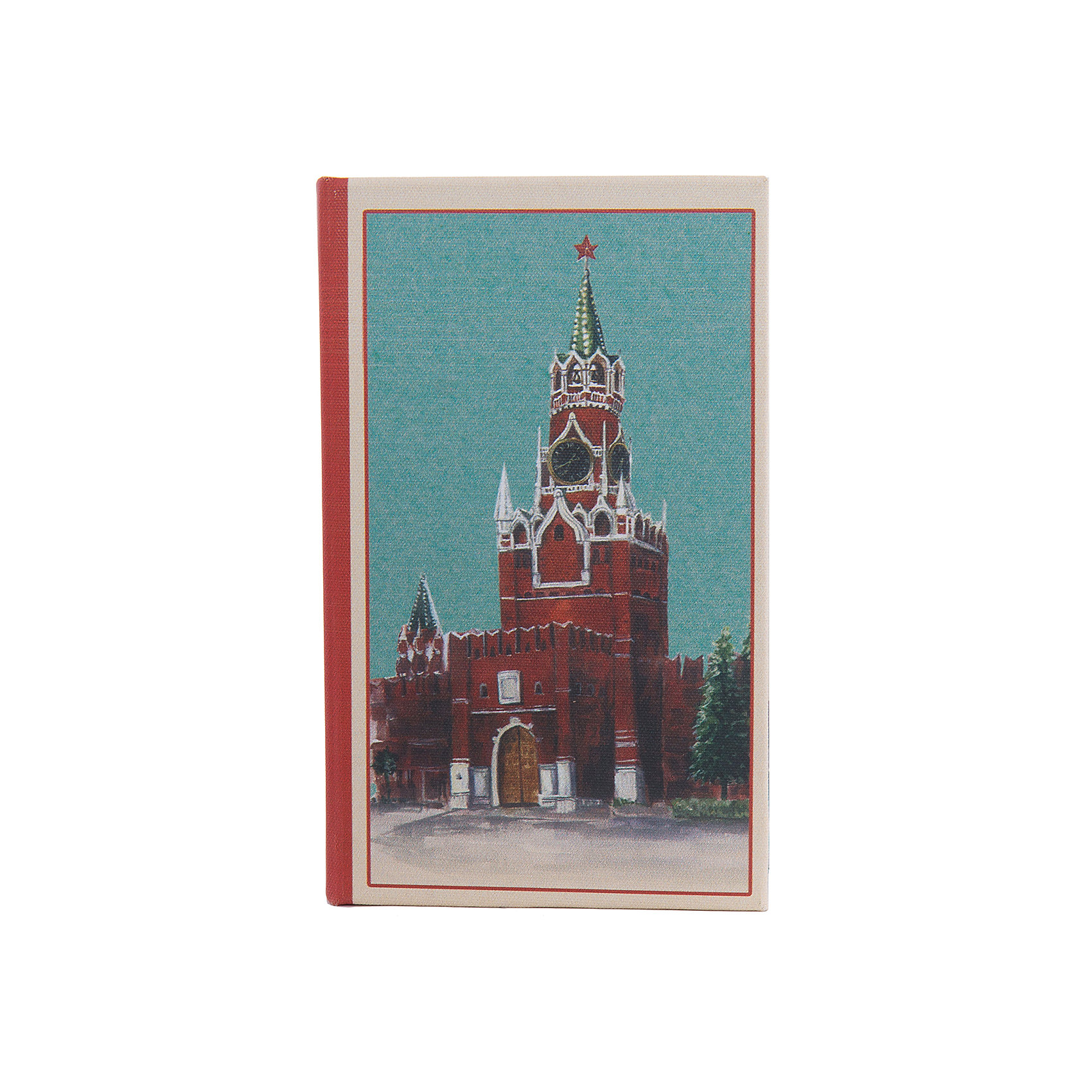 Шкатулка декоративная КремльПредметы интерьера<br>Декоративная шкатулка Кремль изготовлена из дерева в форме книги. Она декорирована интересным рисунком с изображением Кремля. В такой шкатулке приятно будет приятно хранить вещи, украшения и мелкие безделушки.<br><br>Дополнительная информация:<br>Материал: МДФ<br>Размер: 5х17х11 см<br>Вес: 280грамм<br>Вы можете купить декоративную шкатулку Кремль в нашем интернет-магазине.<br><br>Ширина мм: 390<br>Глубина мм: 370<br>Высота мм: 380<br>Вес г: 307<br>Возраст от месяцев: 84<br>Возраст до месяцев: 216<br>Пол: Унисекс<br>Возраст: Детский<br>SKU: 4957986