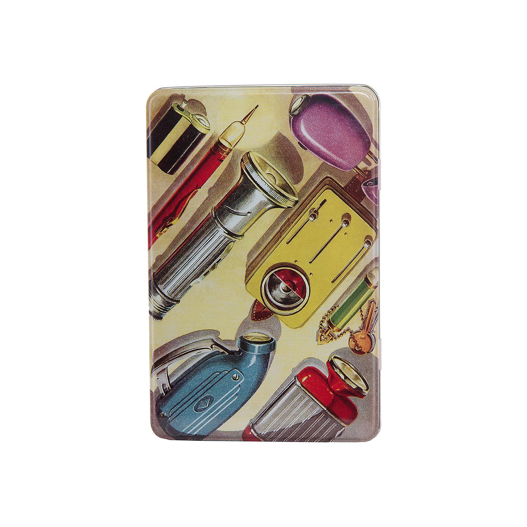 Коробка для бытовых нужд Инструменты 1700млПредметы интерьера<br>Инструменты - металлическая коробка для бытовых нужд, в которую прекрасно поместятся  небольшие предметы для дома. Коробка закрывается крышкой и декорирована  рисунком с советскими инструментами. С такой коробкой приятно будет добавить немного ретро в свой дом.<br><br>Дополнительная информация:<br>Материал: металл<br>Размер: 20х7 см<br>Объем: 1700 мл<br>Коробку для бытовых нужд Инструменты вы можете приобрести в нашем интернет-магазине.<br><br>Ширина мм: 420<br>Глубина мм: 430<br>Высота мм: 550<br>Вес г: 184<br>Возраст от месяцев: 84<br>Возраст до месяцев: 216<br>Пол: Унисекс<br>Возраст: Детский<br>SKU: 4957998