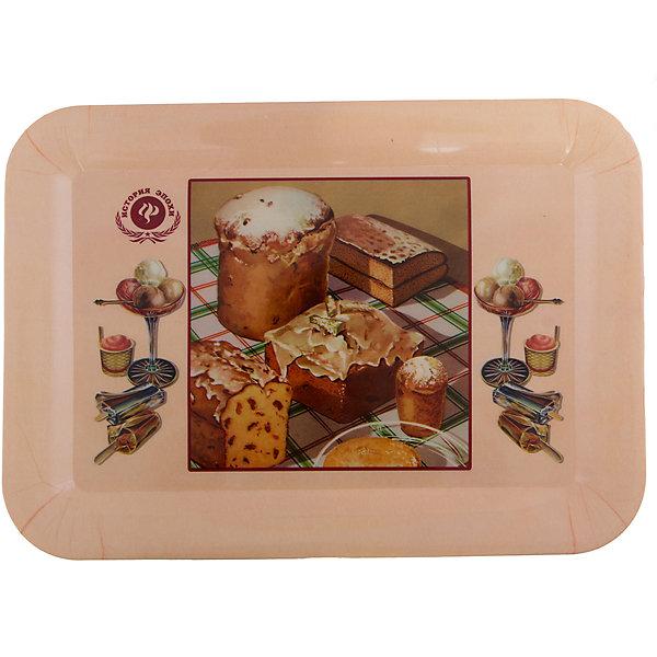 Поднос кухонный  Ретро-кексы35,5*25,5смКухонная утварь<br>Кухонный поднос Ретро-кексы изготовлен из качественного полипропилена, оснащен удлиненными бортиками и декорирован рисунком с изображение десертов. Прекрасно подойдет для декора и сервировки!<br><br>Дополнительная информация:<br>Материал: полипропилен<br>Размер: 36х26х2 см<br>Вес: 250 грамм<br>Вы можете купить кухонный поднос Ретро-кексы в нашем интернет-магазине.<br>Ширина мм: 290; Глубина мм: 280; Высота мм: 380; Вес г: 248; Возраст от месяцев: 84; Возраст до месяцев: 216; Пол: Унисекс; Возраст: Детский; SKU: 4958009;