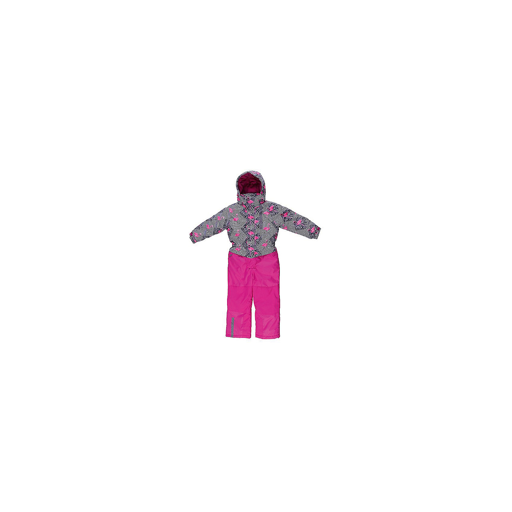 Комбинезон для девочки Sweet BerryКомбинезон для девочки от известного бренда Sweet Berry<br>Яркий комбинезон для девочек из  мембранной, водонепроницаемой (Waterproof - 10000мм), дышащей ( water vapor transmission rate, WVTR -10000гг)  ткани, с грязеотталкивающей пропиткой.  Съемный капюшон на кнопках регулируется резинкой со стоппером. Внутренняя часть низа брюк выполнена из усиленной ткани. Рукава с дополнительной манжетой с вырезом для пальца. Отделка светоотражающим кантом.  Две ветрозащитные планки. Внутри подкладка  флис. Внизу штанин имеются внутренние манжеты из подкладки на прорезиненной эластичной резинки.  Утеплитель 200гр.-тело, 180гр.-рукава, брюки.<br>Состав:<br>Верх: комбинезон: 100%полиэстер.  Подкладка: 100%полиэстер. Наполнитель: 100%полиэстер<br><br>Ширина мм: 356<br>Глубина мм: 10<br>Высота мм: 245<br>Вес г: 519<br>Цвет: розовый<br>Возраст от месяцев: 48<br>Возраст до месяцев: 60<br>Пол: Женский<br>Возраст: Детский<br>Размер: 128,98,122,116,92,134,110,104<br>SKU: 4960067