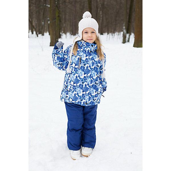 Комплект для девочки: куртка и брюки Sweet BerryКомплекты<br>Комплект для девочки: куртка и брюки от известного бренда Sweet Berry<br>Яркий комплект для девочек из  мембранной, водонепроницаемой (Waterproof - 10000мм), дышащей ( water vapor transmission rate, WVTR -10000гг)  ткани, с грязеотталкивающей пропиткой.   Съемный капюшон на молнии регулируется резинкой со стоппером. Внутренняя часть низа брюк выполнена из усиленной ткани.  Рукава с дополнительной манжетой с вырезом для пальца. Отделка светоотражающим кантом. Две ветрозащитные планки. Внутри подкладка флис,  внутренний карман и снегозащитная юбка. Брюки на регулируемых лямках из эластичной резинки. Внизу штанин имеются внутренние манжеты  на прорезиненной эластичной резинке.  Утеплитель 200гр.-тело, 180гр.-рукава, полукомбинезон.<br>Состав:<br>Верх: куртка: 100%полиэстер, брюки: 100%полиэстер.  Подкладка: 100%полиэстер. Наполнитель: 100%полиэстер<br>Ширина мм: 215; Глубина мм: 88; Высота мм: 191; Вес г: 336; Цвет: синий; Возраст от месяцев: 18; Возраст до месяцев: 24; Пол: Женский; Возраст: Детский; Размер: 92,98,134,128,122,116,110,104; SKU: 4960094;