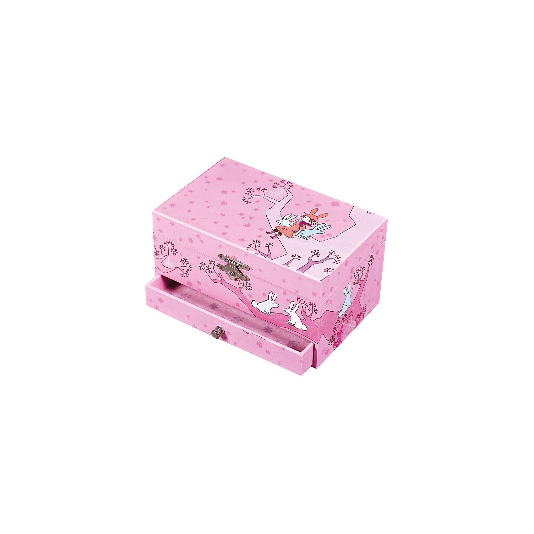 TROUSSELIER Музыкальная шкатулка Девочка на дереве Figurine Ballerina, Trousselier, pink шкатулки trousselier музыкальная шкатулка wooden box девочка и панда