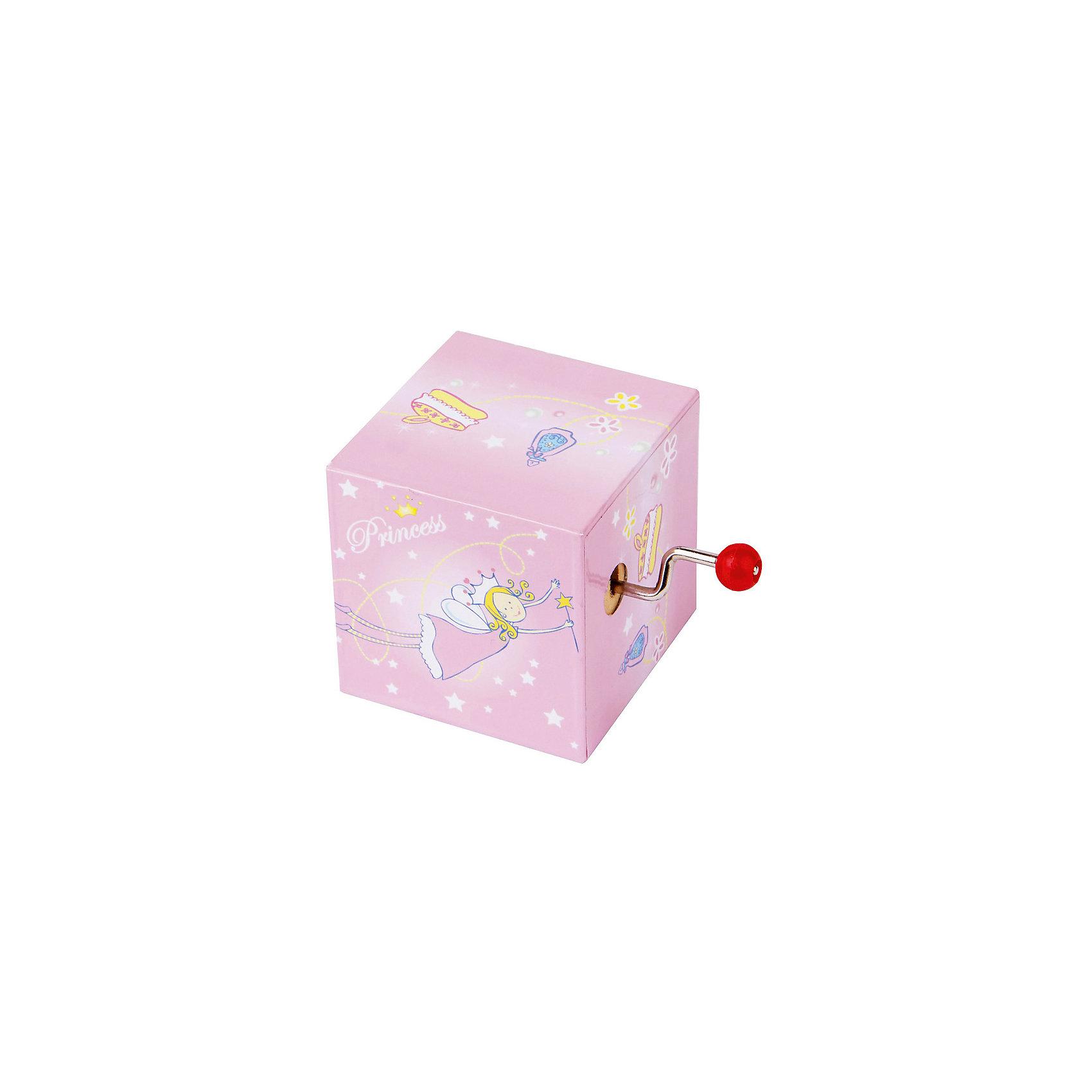 TROUSSELIER Музыкальная мини шарманка Princess, Trousselier trousselier музыкальная мини шарманка elmer© trousselier