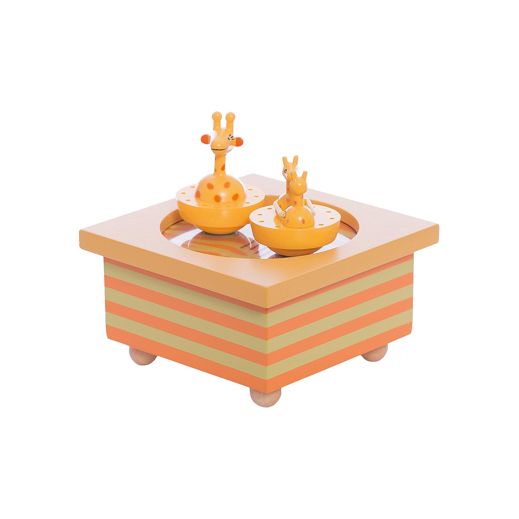 TROUSSELIER Музыкальная шкатулка, серия Жираф, Trousselier jakos музыкальная шкатулка феи в листьях