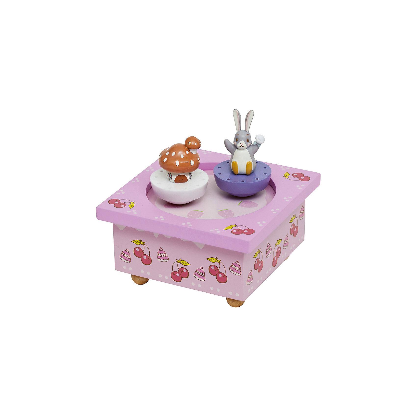 Музыкальная шкатулка Lapingouin©&#13;, TrousselierПредметы интерьера<br>Музыкальная шкатулка Lapingouin©&#13;, Trousselier<br><br>ВНИМАНИЕ! Шкатулка предназначена для декора комнаты, она не открывается и хранить в ней разные мелочи и бижутерию невозможно.<br><br>Какая девочка не мечтает о музыкальной шкатулке? Подарите девочке настоящую музыкальную шкатулку с заводным механизмом от французской компании Trousselier. Шкатулка проигрывает приятную мелодию, заводится с помощью ключика.<br>Она выглядит очень красиво - на ней симпатичные фигурки, которые кружатся при проигрывании мелодии. Шкатулка упакована в подарочную коробку производителя. Изделие произведено из высококачественных материалов, и соответствует европейским стандартам безопасности.<br><br>Дополнительная информация:<br><br>цвет: разноцветный;<br>материал: дерево;<br>подарочная упаковка;<br>заводной механизм;<br>размер: 11 х 11 х 7 см.<br><br>Музыкальную шкатулку Lapingouin© от французской компании Trousselier можно купить в нашем магазине.<br><br>Ширина мм: 114<br>Глубина мм: 114<br>Высота мм: 70<br>Вес г: 380<br>Возраст от месяцев: 12<br>Возраст до месяцев: 216<br>Пол: Женский<br>Возраст: Детский<br>SKU: 4961876