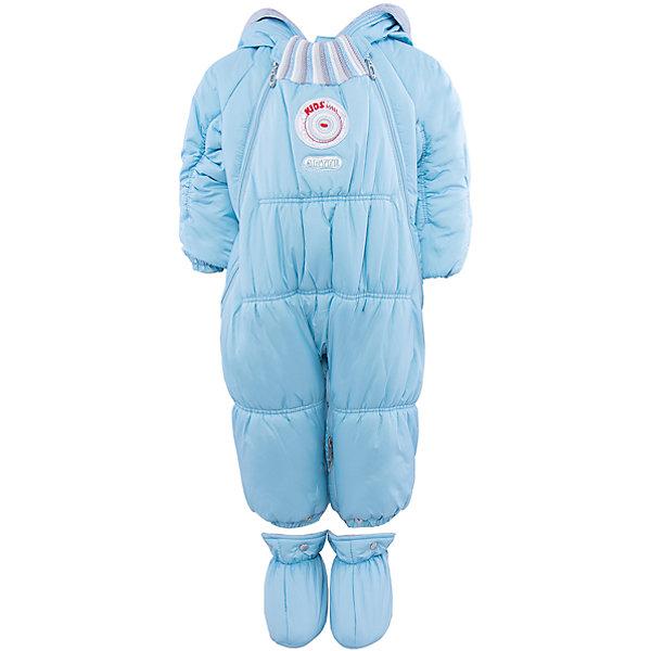 Комбинезон-трансформер для мальчика АртельКонверты<br>Комбинезон-трансформер для мальчика от известного бренда Артель<br>Комбинезон-трансформер - это отличный вариант одежды для прогулок в холодное время года. Он выполняет функцию полноценного костюма с ножками, в котором удобно носить ребенка на руках, или перевозить в автокресле и теплого уютного спального конверта, в котором ребенку комфортно находиться в коляске. Комбинезон трансформируется в конверт с помощью дополнительных молний. <br>Состав:<br>Верх: YSD 819<br>Подкладка: интерлок<br>Утеплитель: термофайбер 200гр<br><br>Ширина мм: 356<br>Глубина мм: 10<br>Высота мм: 245<br>Вес г: 519<br>Цвет: голубой<br>Возраст от месяцев: 2<br>Возраст до месяцев: 5<br>Пол: Мужской<br>Возраст: Детский<br>Размер: 62,74,68<br>SKU: 4963473
