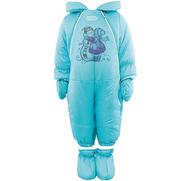 Комбинезон-трансформер на овчине для мальчика АртельВерхняя одежда<br>Комбинезон-трансформер для мальчика от известного бренда Артель<br>Комбинезон-трансформер - это отличный вариант одежды для прогулок в холодное время года. Он выполняет функцию полноценного костюма с ножками, в котором удобно носить ребенка на руках, или перевозить в автокресле и теплого уютного спального конверта, в котором ребенку комфортно находиться в коляске. Комбинезон трансформируется в конверт с помощью дополнительных молний. <br>Состав:<br>Верх: YSD 819<br>Подкладка: интерлок<br>Утеплитель: термофайбер 200гр<br>Подстежка: овчина<br><br>Ширина мм: 356<br>Глубина мм: 10<br>Высота мм: 245<br>Вес г: 519<br>Цвет: голубой<br>Возраст от месяцев: 2<br>Возраст до месяцев: 5<br>Пол: Мужской<br>Возраст: Детский<br>Размер: 62,74,68<br>SKU: 4963489