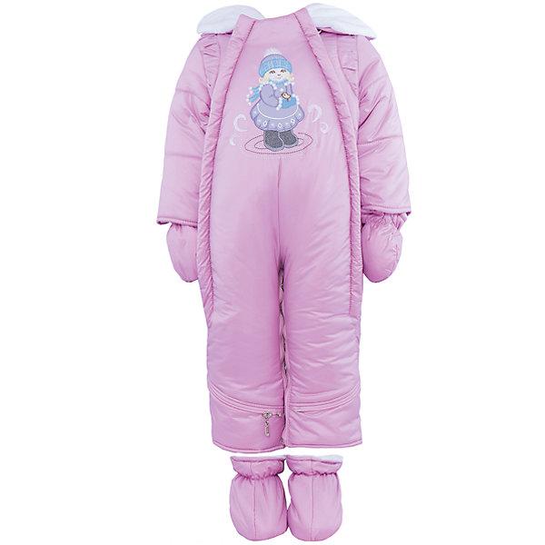 Комбинезон-трансформер на овчине для девочки АртельВерхняя одежда<br>Комбинезон-трансформер для девочки от известного бренда Артель<br>Комбинезон-трансформер - это отличный вариант одежды для прогулок в холодное время года. Он выполняет функцию полноценного костюма с ножками, в котором удобно носить ребенка на руках, или перевозить в автокресле и теплого уютного спального конверта, в котором ребенку комфортно находиться в коляске. Комбинезон трансформируется в конверт с помощью дополнительных молний. <br>Состав:<br>Верх: YSD 819<br>Подкладка: интерлок<br>Утеплитель: термофайбер 200гр<br>Подстежка: овчина<br>Ширина мм: 356; Глубина мм: 10; Высота мм: 245; Вес г: 519; Цвет: светло-розовый; Возраст от месяцев: 2; Возраст до месяцев: 5; Пол: Женский; Возраст: Детский; Размер: 62,74,68; SKU: 4963497;