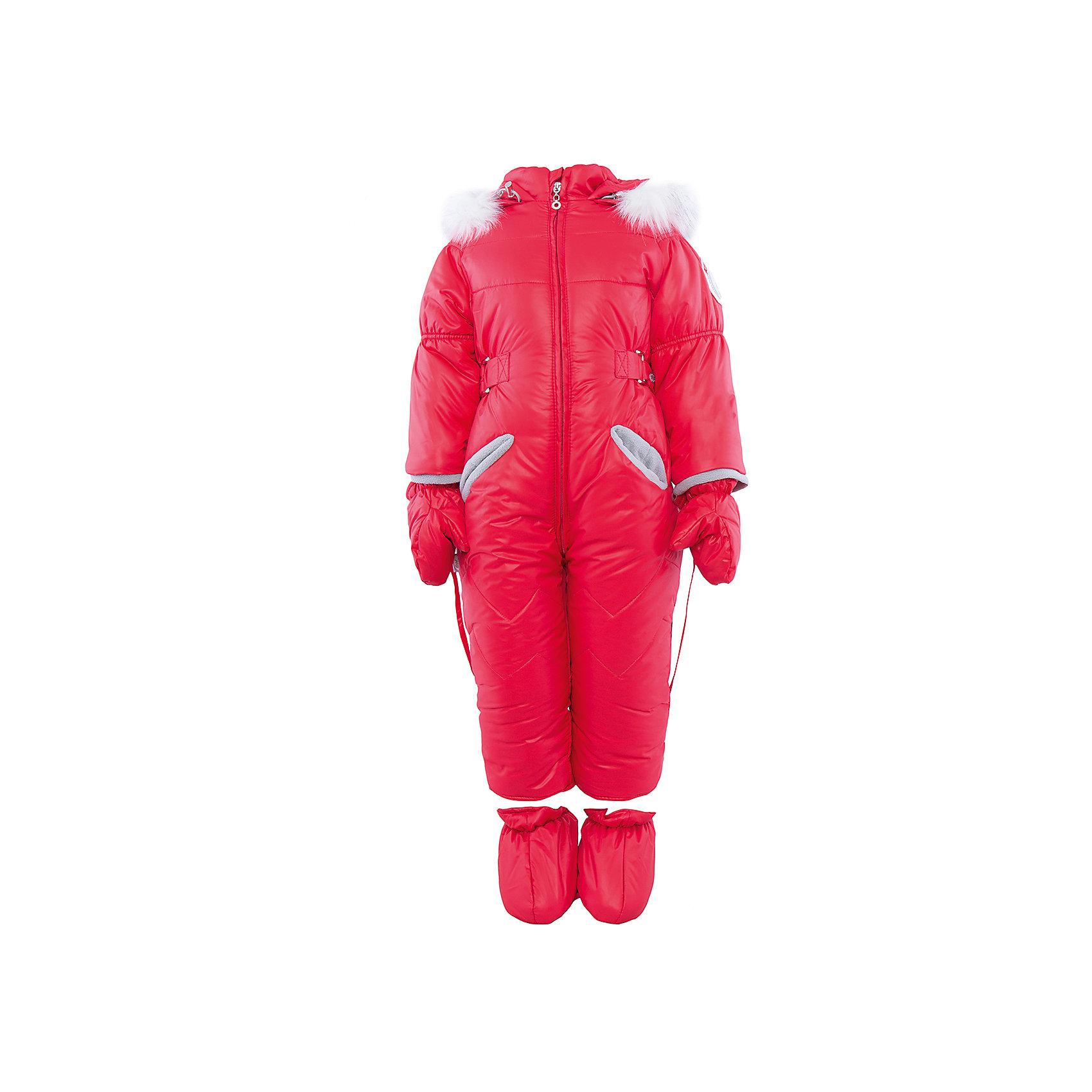 Комбинезон на овчине АртельВерхняя одежда<br>Комбинезон от известного бренда Артель<br>Модель этого теплого комбинезона комплектуется пинетками и варежками. Отворотные манжеты на рукавах и ножках позволяют регулировать длину. Подкладка комбинезона выполненая из вшитой овчины. На глубоком втачном капюшоне - съемный искусственный мех песца на кнопках. По линии талии объем изделия регулируется хлястиком.<br>Состав:<br>Верх: YSD 819<br>Подкладка: овчина<br>Утеплитель: термофайбер 200гр<br><br>Ширина мм: 356<br>Глубина мм: 10<br>Высота мм: 245<br>Вес г: 519<br>Цвет: красный<br>Возраст от месяцев: 12<br>Возраст до месяцев: 18<br>Пол: Женский<br>Возраст: Детский<br>Размер: 86,68,74,80<br>SKU: 4963506