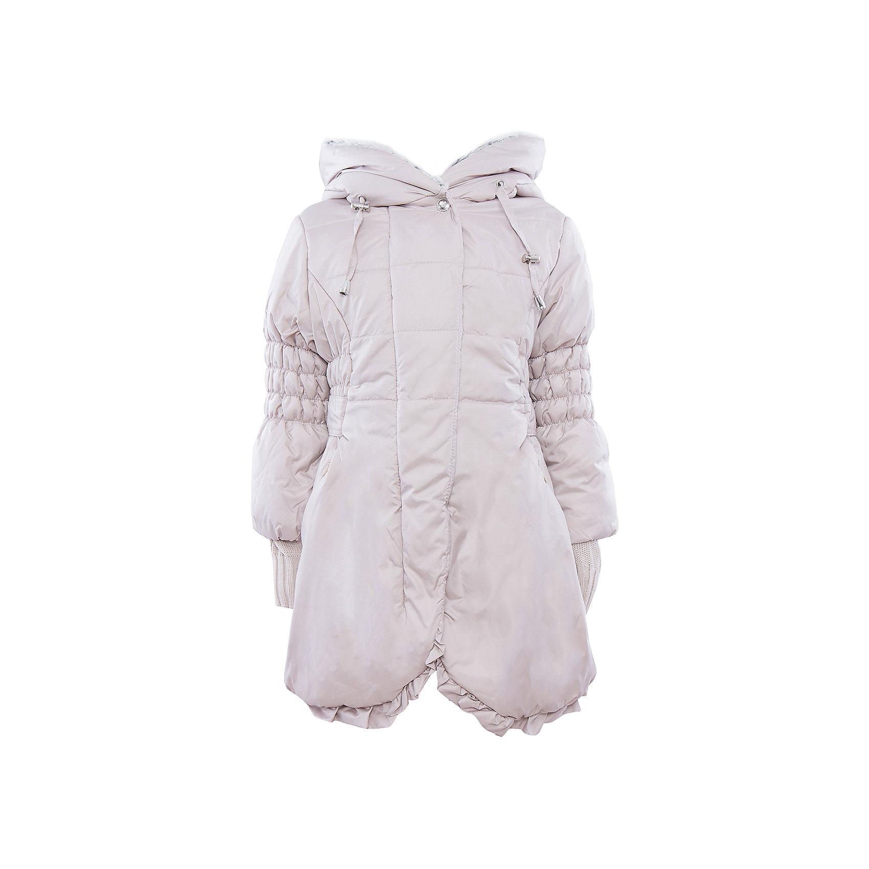 Куртка АртельКуртка от известного бренда Артель<br>Удлиненная куртка для девочки с капюшоном на мягком искусственном мехе. По линии талии имеется регулируемый пояс-хлястик, который позволяет подогнать куртку по-фигуре, в рельефном шве есть удобный карман на молнии. На рукавах куртки имеются удлиненные трикотажные напульсники с отверстием для большого пальца.<br>Состав:<br>Верх: F Multi <br>Утеплитель: термофайбер 200 гр<br>Подкладка: интерлок,тиси<br><br>Ширина мм: 356<br>Глубина мм: 10<br>Высота мм: 245<br>Вес г: 519<br>Цвет: бежевый<br>Возраст от месяцев: 36<br>Возраст до месяцев: 48<br>Пол: Женский<br>Возраст: Детский<br>Размер: 104,122,98,110,116<br>SKU: 4963578