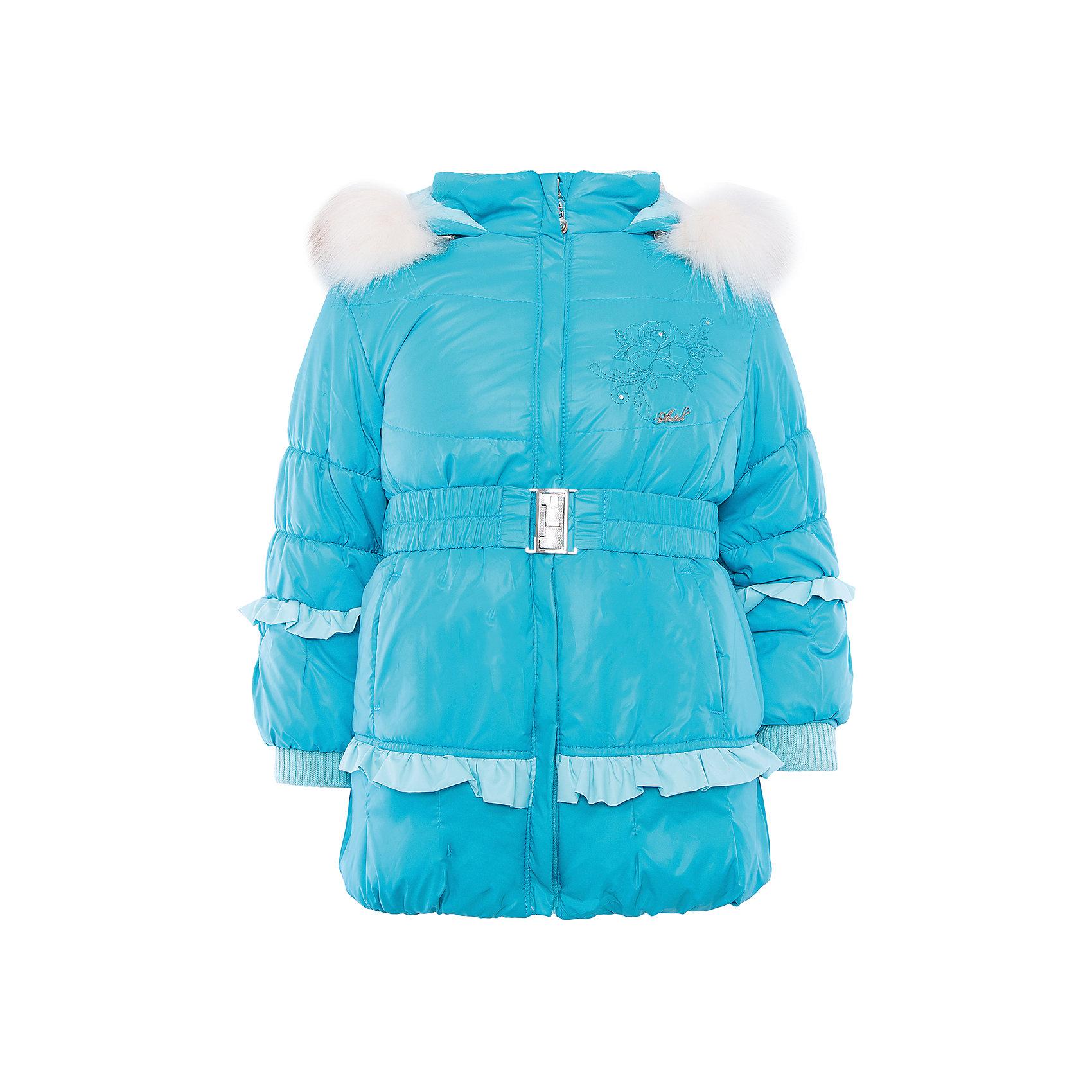 Куртка на овчине для девочки АртельКуртка для девочки от известного бренда Артель<br>Теплая куртка на девочку с меховой подстежкой. На втачном капюшоне съемный искусственный песец. По низу рукава - трикотажные манжеты, надежно защищающие от холода. По линии талии пояс на резинке с декоративной пряжкой.По нижней части изделия и рукавам - декоративная рюшка.<br>Состав:<br>Верх: 819 YSD<br>Подкладка: инетерлок<br>Подстежка: овчина<br>Опушка: песец искусственный(отстегивается)<br>Утеплитель: термофайбер 200гр<br><br>Ширина мм: 356<br>Глубина мм: 10<br>Высота мм: 245<br>Вес г: 519<br>Цвет: голубой<br>Возраст от месяцев: 24<br>Возраст до месяцев: 36<br>Пол: Женский<br>Возраст: Детский<br>Размер: 98,122,116,110,104<br>SKU: 4963584