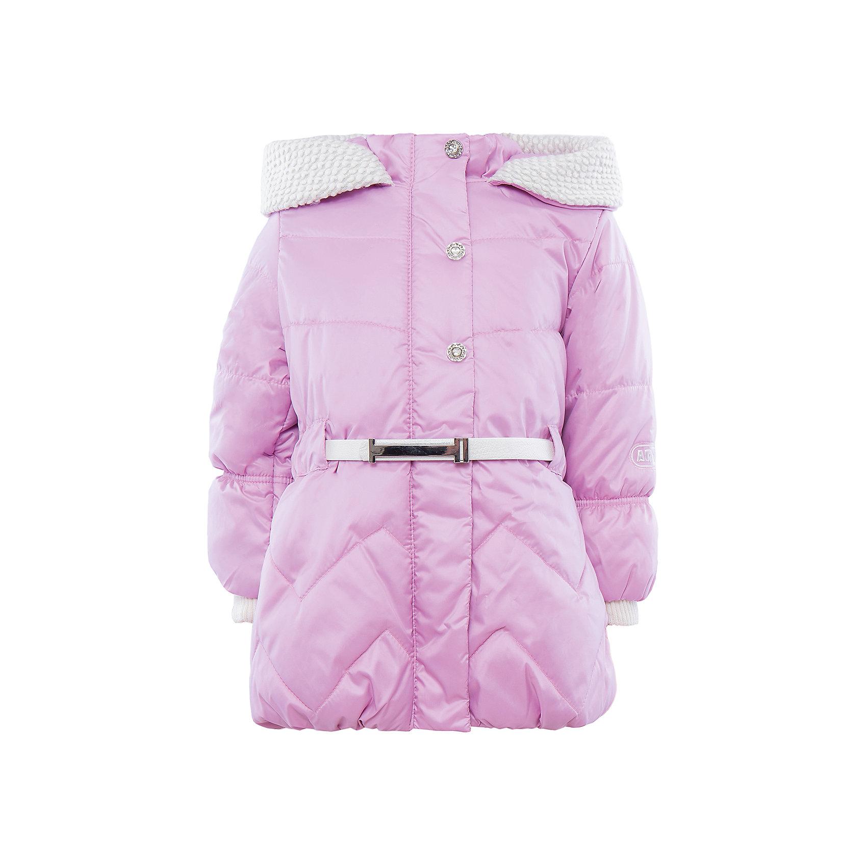 Куртка для девочки АртельКуртка для девочки от известного бренда Артель<br>Удлиненная куртка для девочки с втачным капюшоном, отделанным драпом зерно. По линии талии имеется регулируемый пояс, который позволяет подогнать куртку по фигуре. Центральная застежка на молнию прикрыта ветрозащитной планкой. Трикотажные манжеты на рукавах и резинка по низу изделия - обеспечивают защиту от ветра. <br>Состав:<br>Верх: YSD 819<br>Подкладка: интерлок<br>Утеплитель: термофайбер 200гр<br><br>Ширина мм: 356<br>Глубина мм: 10<br>Высота мм: 245<br>Вес г: 519<br>Цвет: светло-розовый<br>Возраст от месяцев: 12<br>Возраст до месяцев: 15<br>Пол: Женский<br>Возраст: Детский<br>Размер: 80,98,92,86<br>SKU: 4963616