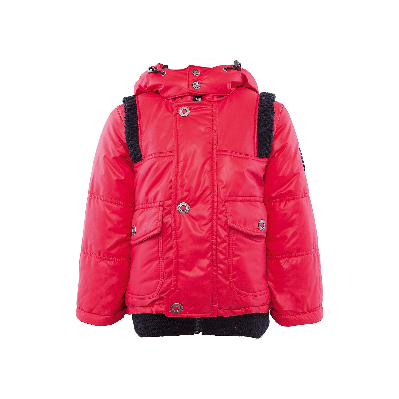 Куртка для мальчика АртельВерхняя одежда<br>Куртка для мальчика от известного бренда Артель<br>Куртка для мальчика с центральной застежкой на молнию, прикрытой ветрозащитной планкой. Капюшон втачной с регулируемой кулиской по краю. Манжета рукава отворотная, регулируется по длине, внутри трикотажная манжета. Но низу куртка отделана трикотажным подвязом. <br>Состав:<br>Верх: YSD 819<br>Подкладка: интерлок<br>Утеплитель: термофайбер 200гр<br><br>Ширина мм: 356<br>Глубина мм: 10<br>Высота мм: 245<br>Вес г: 519<br>Цвет: красный<br>Возраст от месяцев: 24<br>Возраст до месяцев: 36<br>Пол: Мужской<br>Возраст: Детский<br>Размер: 98,80,86,92<br>SKU: 4963631