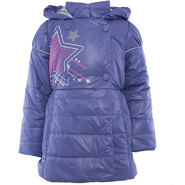 Куртка для девочки АртельВерхняя одежда<br>Куртка для девочки от известного бренда Артель<br>Стильная удлиненная двубортная куртка на девочку. Капюшон втачной с отворотом в виде буфа. Манжета рукава регулируется по длине. По линии талии сторочка с резинкой. <br>Состав:<br>Верх: YSD 819<br>Подкладка: интерлок, тиси<br>Утеплитель: термофайбер 200гр<br>Ширина мм: 356; Глубина мм: 10; Высота мм: 245; Вес г: 519; Цвет: лиловый; Возраст от месяцев: 72; Возраст до месяцев: 84; Пол: Женский; Возраст: Детский; Размер: 122,116,110,104,128; SKU: 4963648;