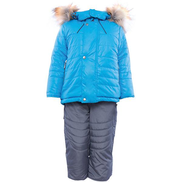 Комплект: куртка и полукомбинезон на овчине для мальчика АртельВерхняя одежда<br>Комплект: куртка и полукомбинезон для мальчика от известного бренда Артель<br>Теплая куртка прямого силуэта с дополнительной меховой подстежкой. Съемный глубокий капюшон на кнопках с искусственным отстегивающемся мехом енота, вязаные манжеты в рукавах и регулируемая кулиска по низу куртки создают дополнительную защиту в холодное время года. Отворотный рукав регулируется по длине, карманы прорезные на молнии. У полукомбинезона регулируется длина бретелек и отворачивается низ штанишек, что позволит индивидуально для каждого ребенка скорректировать посадку изделия. По низу штанины имеется дополнительная защита от снега. <br>Состав:<br>Верх: 819 YSD<br>Подкладка: интерлок<br>Подстежка: овчина<br>Опушка:енот искусственный(отстегивается)<br>Утеплитель: термофайбер 200гр<br><br>Ширина мм: 215<br>Глубина мм: 88<br>Высота мм: 191<br>Вес г: 336<br>Цвет: голубой<br>Возраст от месяцев: 6<br>Возраст до месяцев: 9<br>Пол: Мужской<br>Возраст: Детский<br>Размер: 74,92,86,80<br>SKU: 4963899