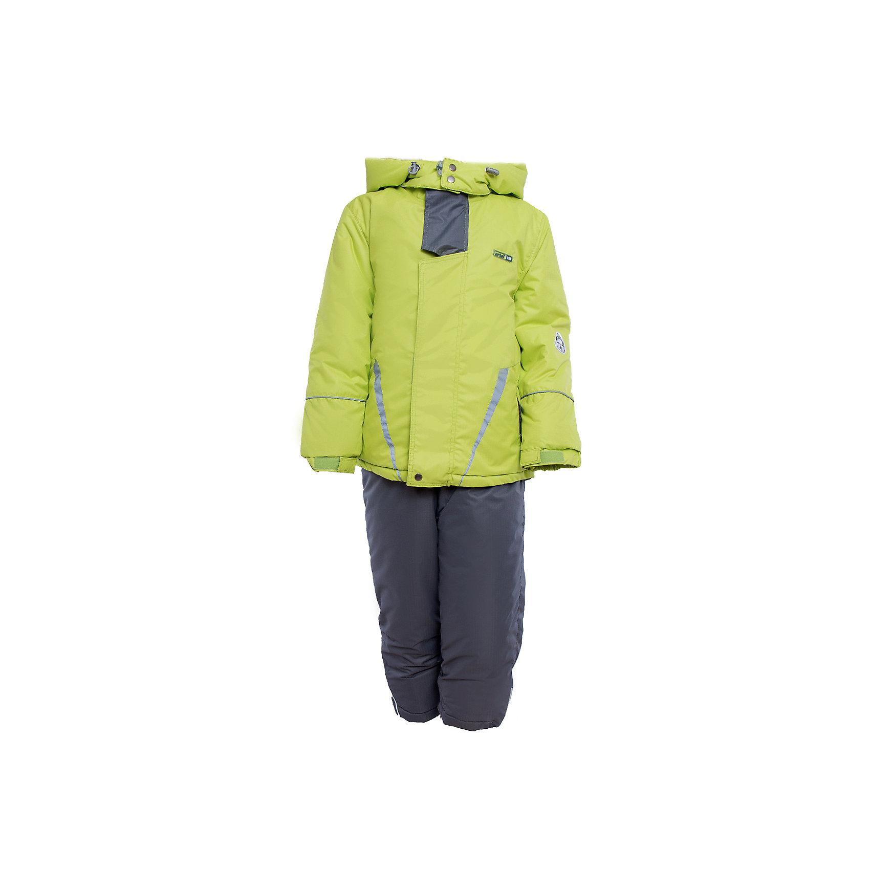 Комплект: куртка и полукомбинезон для мальчика АртельВерхняя одежда<br>Комплект: куртка и полукомбинезон для мальчика от известного бренда Артель<br>Комплект на современном утеплителеиз мембранной ткани, позволит ребенку долго гулять даже в самую слякотную погоду, кататься с мокрых горок и не промокнуть. Куртка выполнена из мембранной ткани . Функцию дополнительной защиты от ветра выполняют: глубокий капюшон с резинкой и стопорами, кулиска с резинкой по низу куртки, дополнительная фиксация по краю рукава с регулируемой липучкой. По линии талии расположен пояс на резинке с декоративной пряжкой. У полукомбинезона регулируется длина бретелек. Внизу на штанишках есть молнии, для удобства одевания на зимние сапожки, а так же дополнительная фиксация, в виде напульсника и застежки на липучку.<br>Состав:<br>Верх: Dobby pongee<br>Подкладка: микрофлис,ПЭ<br>Утеплитель: термофин 200гр<br><br>Ширина мм: 215<br>Глубина мм: 88<br>Высота мм: 191<br>Вес г: 336<br>Цвет: зеленый<br>Возраст от месяцев: 84<br>Возраст до месяцев: 96<br>Пол: Мужской<br>Возраст: Детский<br>Размер: 128,134,140,146,116,122<br>SKU: 4963940