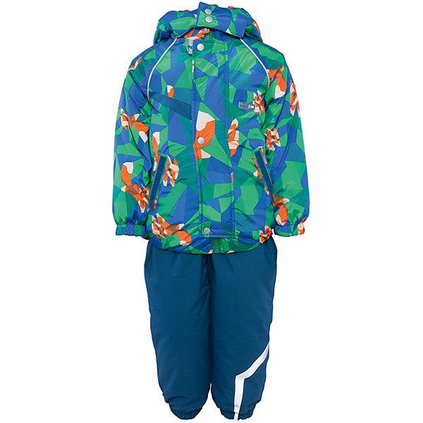 Комплект: куртка и полукомбинезон для мальчика АртельВерхняя одежда<br>Комплект: куртка и полукомбинезон для мальчика от известного бренда Артель<br>Комплект на современном утеплителеиз мембранной ткани, позволит малышу долго гулять даже в самую слякотную погоду, кататься с мокрых горок и не промокнуть. Куртка выполнена из ткани с оригинальным геометрическим принтом. Центральный замок на молнию прикрыт ветрозащитной планкой. У полукомбинезона регулируется длина бретелек. По низу штанишек расположены штрипки, которые фиксируются на сапожках, удерживают штанину от задирания и обеспечивают дополнительную защиту от скольжения. Сзади, по линии талии, для дополнительной фиксации, расположена резинка.<br>Состав:<br>Верх: KB-703 HiPora<br>Подкладка: интерлок<br>Утеплитель: TermoFinn 200<br>Полукомбинезон:<br>Верх: Dobby HiPora<br>Подкладка: флис, пэ<br>Утеплитель: TermoFinn 200<br><br>Ширина мм: 215<br>Глубина мм: 88<br>Высота мм: 191<br>Вес г: 336<br>Цвет: синий<br>Возраст от месяцев: 12<br>Возраст до месяцев: 15<br>Пол: Мужской<br>Возраст: Детский<br>Размер: 80,92,86<br>SKU: 4963961