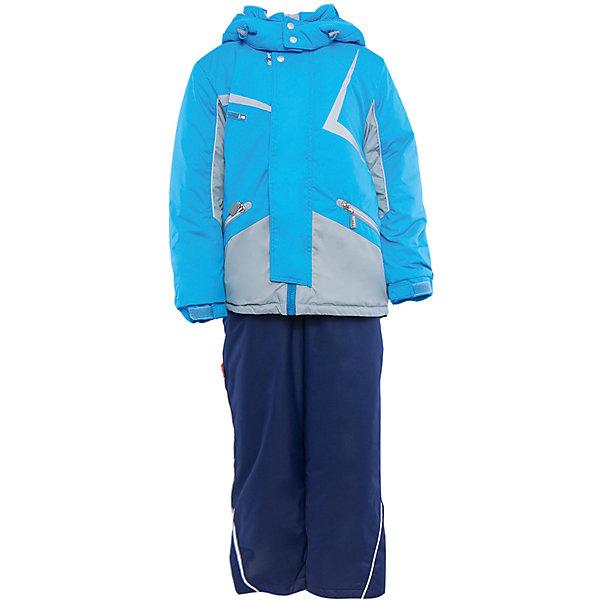 Комплект: куртка и полукомбинезон для мальчика АртельВерхняя одежда<br>Комплект: куртка и полукомбинезон для мальчика от известного бренда Артель<br>Комплект на современном утеплителеиз мембранной ткани, позволит ребенку долго гулять даже в самую слякотную погоду, кататься с мокрых горок и не промокнуть. Куртка выполнена из мембранной ткани . Функцию дополнительной защиты от ветра выполняют: глубокий капюшон с резинкой и стопорами, кулиска с резинкой по низу куртки, дополнительная фиксация по краю рукава с регулируемой липучкой. По линии талии расположен пояс на резинке с декоративной пряжкой. У полукомбинезона регулируется длина бретелек. Внизу на штанишках есть дополнительная фиксация, в виде напульсника и застежки на липучку.<br>Состав:<br>Верх: LokkerPoint<br>Подкладка: микрофлис, пэ<br>Утеплитель: TermoFinn 200<br>Полукомбинезон:<br>Верх: LokkerPoint<br>Подкладка: флис, пэ<br>Утеплитель: TermoFinn 200<br>Верх: KB-703 HiPora<br><br>Ширина мм: 215<br>Глубина мм: 88<br>Высота мм: 191<br>Вес г: 336<br>Цвет: голубой<br>Возраст от месяцев: 84<br>Возраст до месяцев: 96<br>Пол: Мужской<br>Возраст: Детский<br>Размер: 128,134,122,116,146,140<br>SKU: 4963972