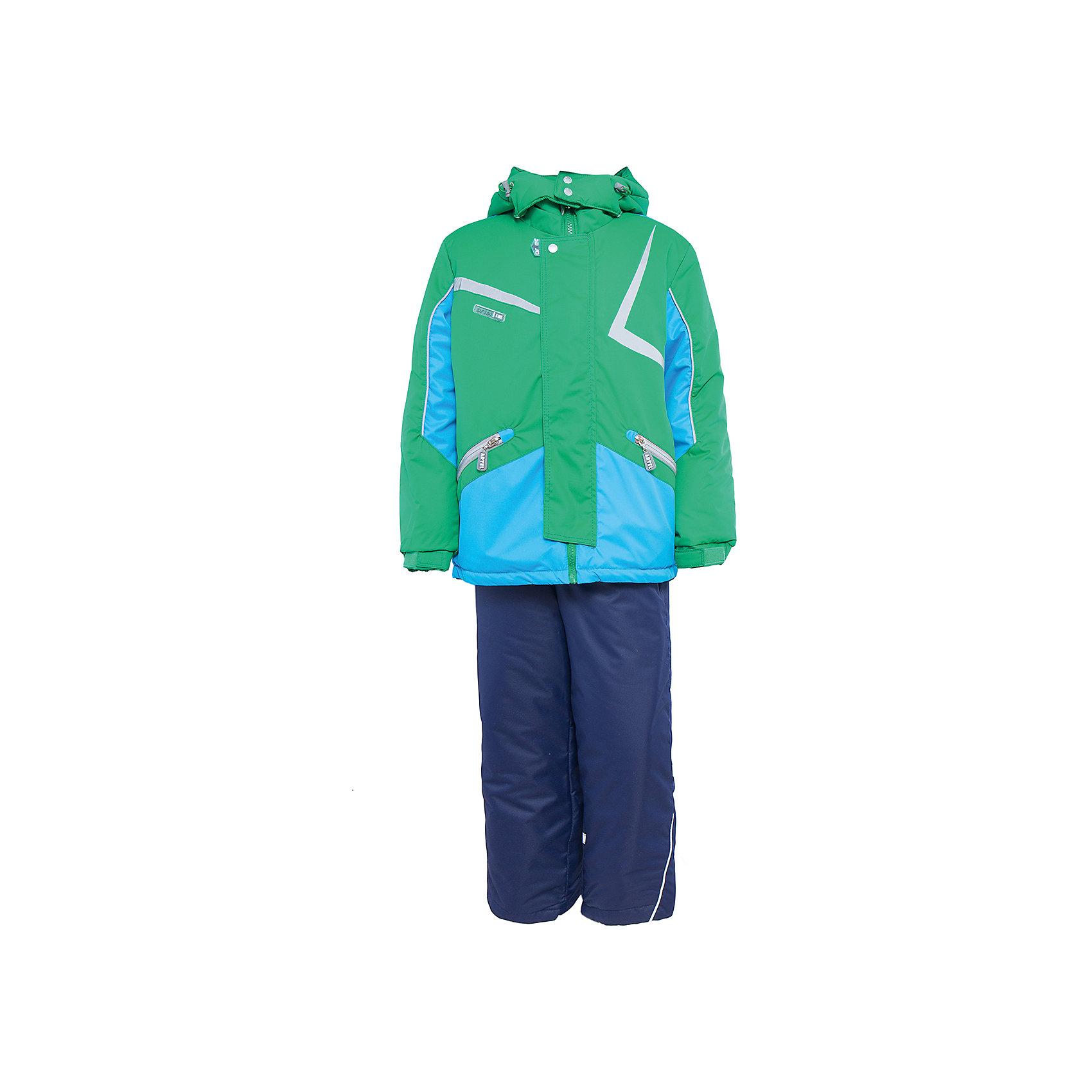 Артель Комплект: куртка и полукомбинезон для мальчика Артель комплект одежды для мальчика huppa avery куртка полукомбинезон цвет синий темно синий 41780030 72535 размер 86