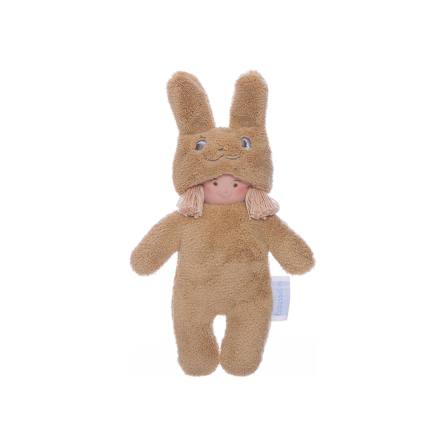 Тряпичная кукла Девочка в костюме кролика, 22см&#13;, Trousselier<br><br>Ширина мм: 120<br>Глубина мм: 40<br>Высота мм: 40<br>Вес г: 180<br>Возраст от месяцев: -2147483648<br>Возраст до месяцев: 2147483647<br>Пол: Унисекс<br>Возраст: Детский<br>SKU: 4964788
