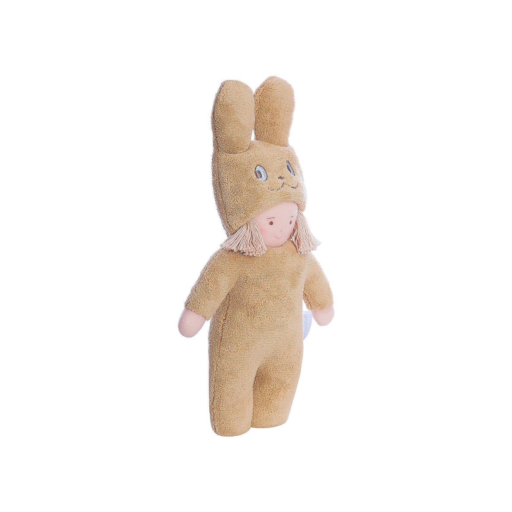 Тряпичная кукла Девочка в костюме кролика, 40см&#13;, TrousselierМягкие куклы<br>Тряпичная кукла Девочка в костюме кролика, 40см, Trousselier.<br><br>Характеристика:<br><br>• Материал: текстиль, плюш, пластик.    <br>• Высота игрушки: 40 см.<br>• Мягкая, приятная на ощупь.<br><br>Дети обожают мягкие игрушки, ведь с ними так приятно играть днем и уютно и спокойно засыпать ночью! Эта очаровательная малышка в костюме кролика приведет в восторг любую девочку! Куколка очень мягкая и приятная на ощупь, изготовлена из высококачественных гипоаллергенных материалов абсолютно безопасных даже для малышей.<br><br>Тряпичную куклу Девочка в костюме кролика, 40см, Trousselier, можно купить в нашем магазине.<br><br>Ширина мм: 350<br>Глубина мм: 205<br>Высота мм: 80<br>Вес г: 180<br>Возраст от месяцев: -2147483648<br>Возраст до месяцев: 2147483647<br>Пол: Унисекс<br>Возраст: Детский<br>SKU: 4964789