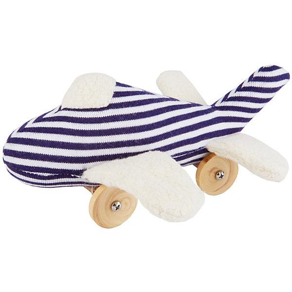 Мягкая игрушка Самолет на колесиках, 16смКаталки и качалки<br>Мягкая игрушка Самолет на колесиках, 16см, Trousselier<br><br>Характеристики:<br><br>• Материал: хлопковый велюр, дерево<br>• Размер: 16 см<br><br>Самолет на колесиках имеет очень легкий ход. Он мало весит, несмотря на деревянную конструкцию, поэтому малыш может играть с ним самостоятельно. Нежный корпус сделан из велюра, который очень приятен на ощупь. Качественные и натуральные материалы полностью безопасны для ребенка.<br><br>Мягкая игрушка Самолет на колесиках, 16см, Trousselier можно купить в нашем интернет-магазине.<br><br>Ширина мм: 155<br>Глубина мм: 155<br>Высота мм: 70<br>Вес г: 180<br>Возраст от месяцев: -2147483648<br>Возраст до месяцев: 2147483647<br>Пол: Мужской<br>Возраст: Детский<br>SKU: 4964795