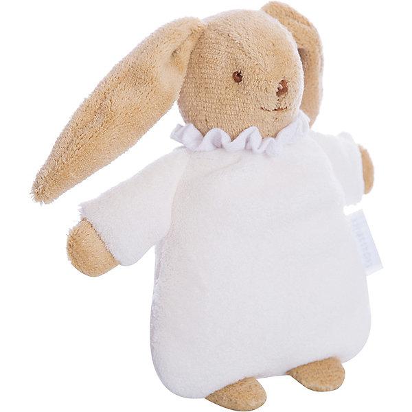 Мягкая погремушка Зайка, цвет слоновой кости, 19см&#13;, TrousselierИгрушки для новорожденных<br>Мягкая погремушка Зайка, цвет слоновой кости, Trousselier<br><br>Характеристики:<br><br>• Материал: текстиль, пластик, хлопок.<br>• Размер упаковки ШхГхВ: 17х17х8 см.<br>• Вес: 255 г.<br>• Цвет: цвет слоновой кости.<br><br>Очаровательный зайка от известного французского бренда Trousselier не оставит равнодушным ни одного малыша. Такую игрушку удобно держать маленькими ручками и брать с собой в кровать или коляску, она не имеет мелких деталей, и ее запросто можно попробовать на вкус. А нежные пастельные тона великолепно вписываются в любой интерьер - игрушки и аксессуары французского бренда придадут определенный шарм детской комнате или гостиной.<br>Играя с такой игрушкой, ваш малыш, развивает мелкую моторику пальчиков, тактильное и цветовое восприятие.<br><br>Мягкую погремушку Зайка, цвет слоновой кости, Trousselier, можно купить в нашем интернет – магазине.<br><br>Ширина мм: 155<br>Глубина мм: 155<br>Высота мм: 70<br>Вес г: 130<br>Возраст от месяцев: -2147483648<br>Возраст до месяцев: 2147483647<br>Пол: Унисекс<br>Возраст: Детский<br>SKU: 4964801